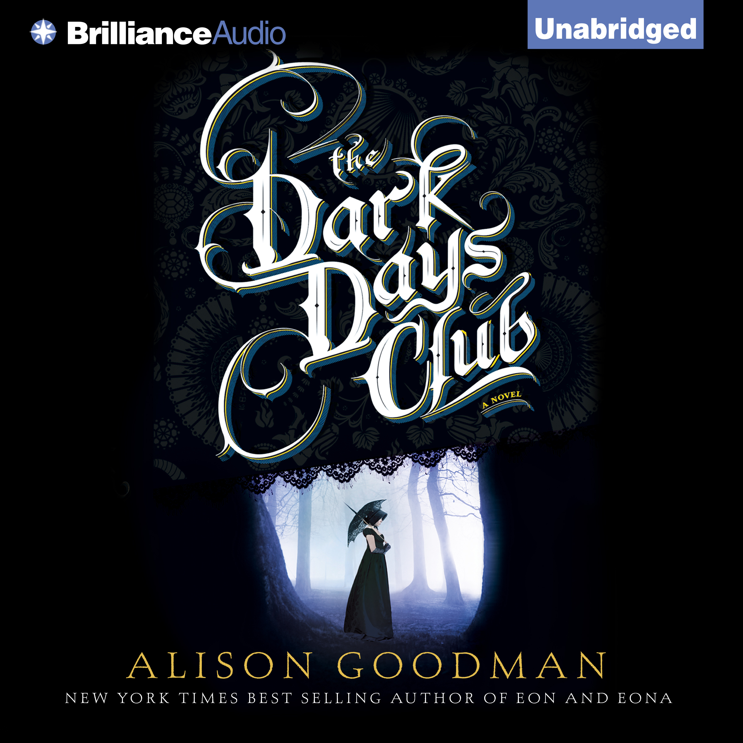 Printable The Dark Days Club Audiobook Cover Art