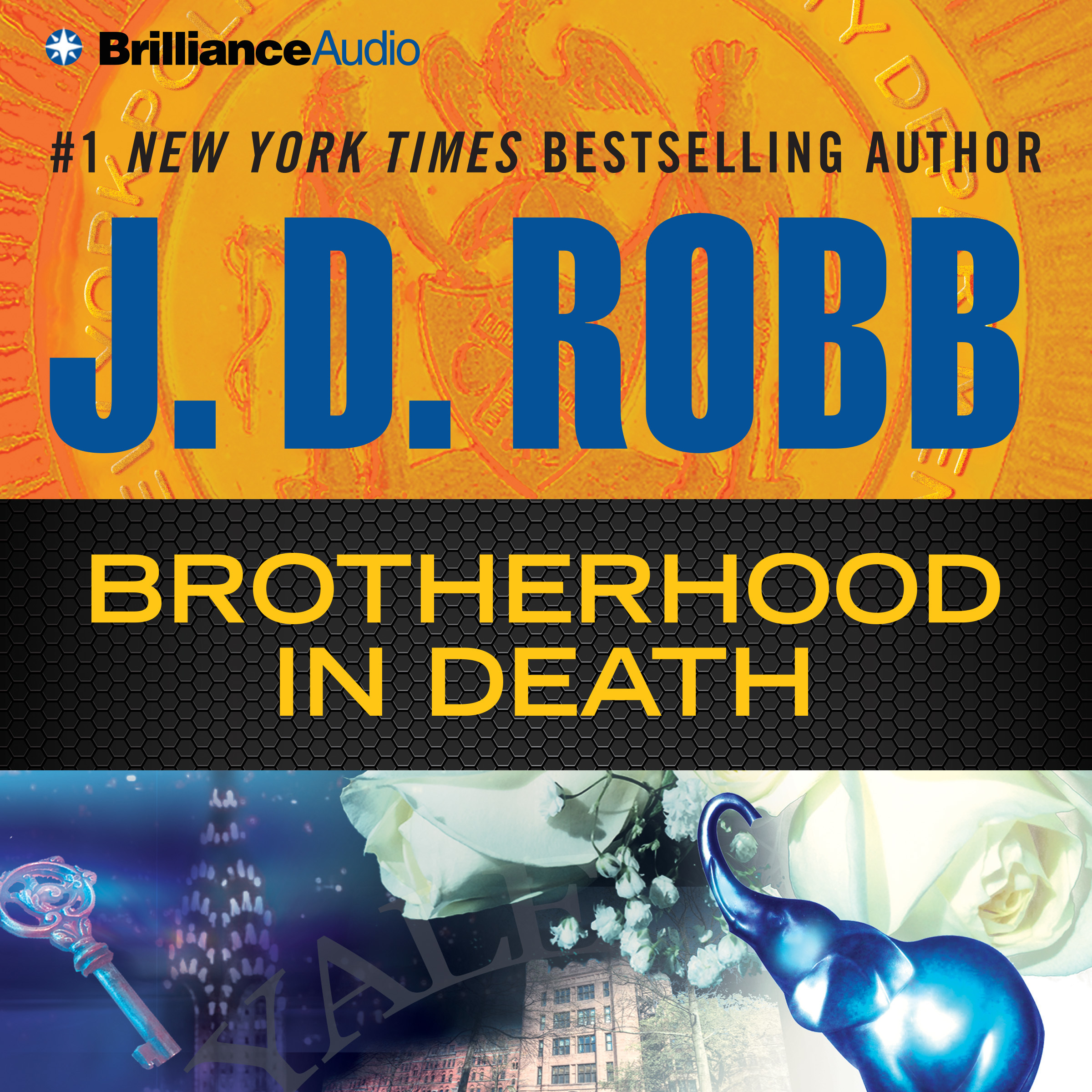 Printable Brotherhood in Death Audiobook Cover Art