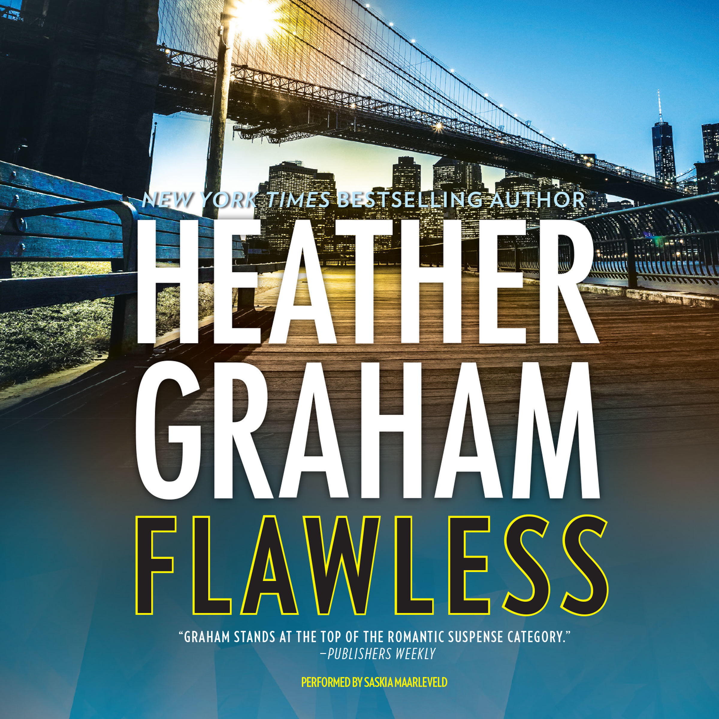 Printable Flawless Audiobook Cover Art