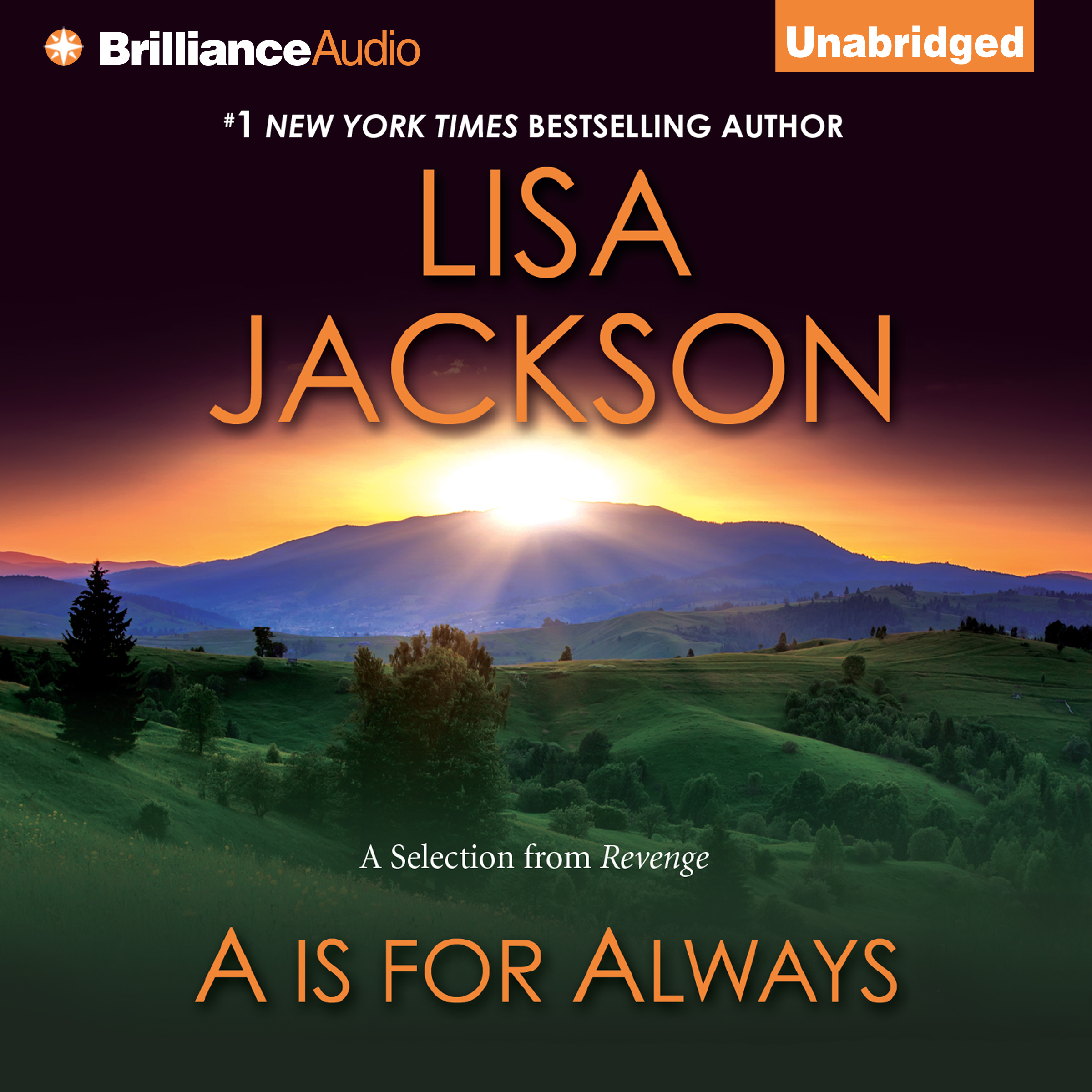 Printable A is for Always: A Selection from Revenge Audiobook Cover Art
