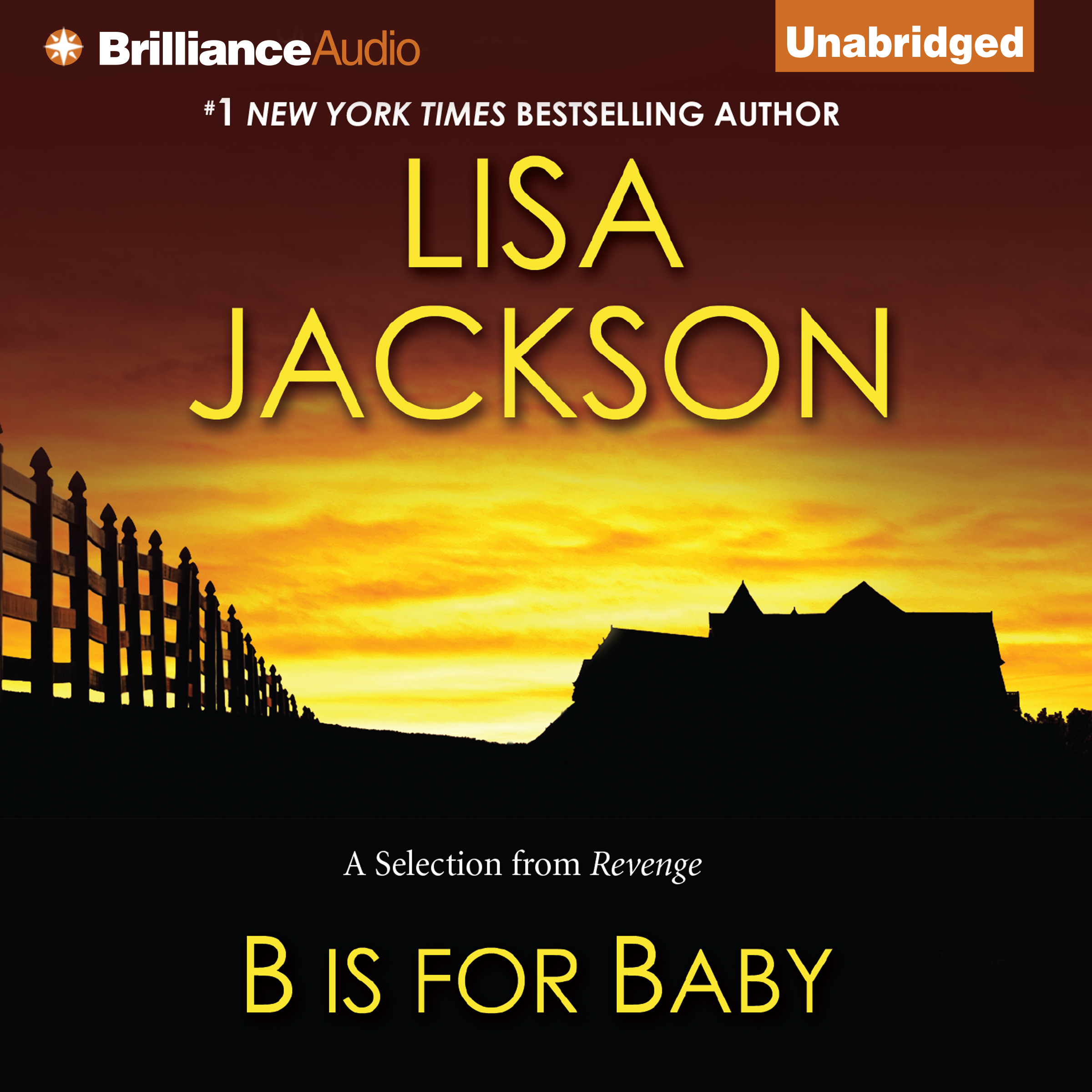 Printable B is for Baby: A Selection from Revenge Audiobook Cover Art