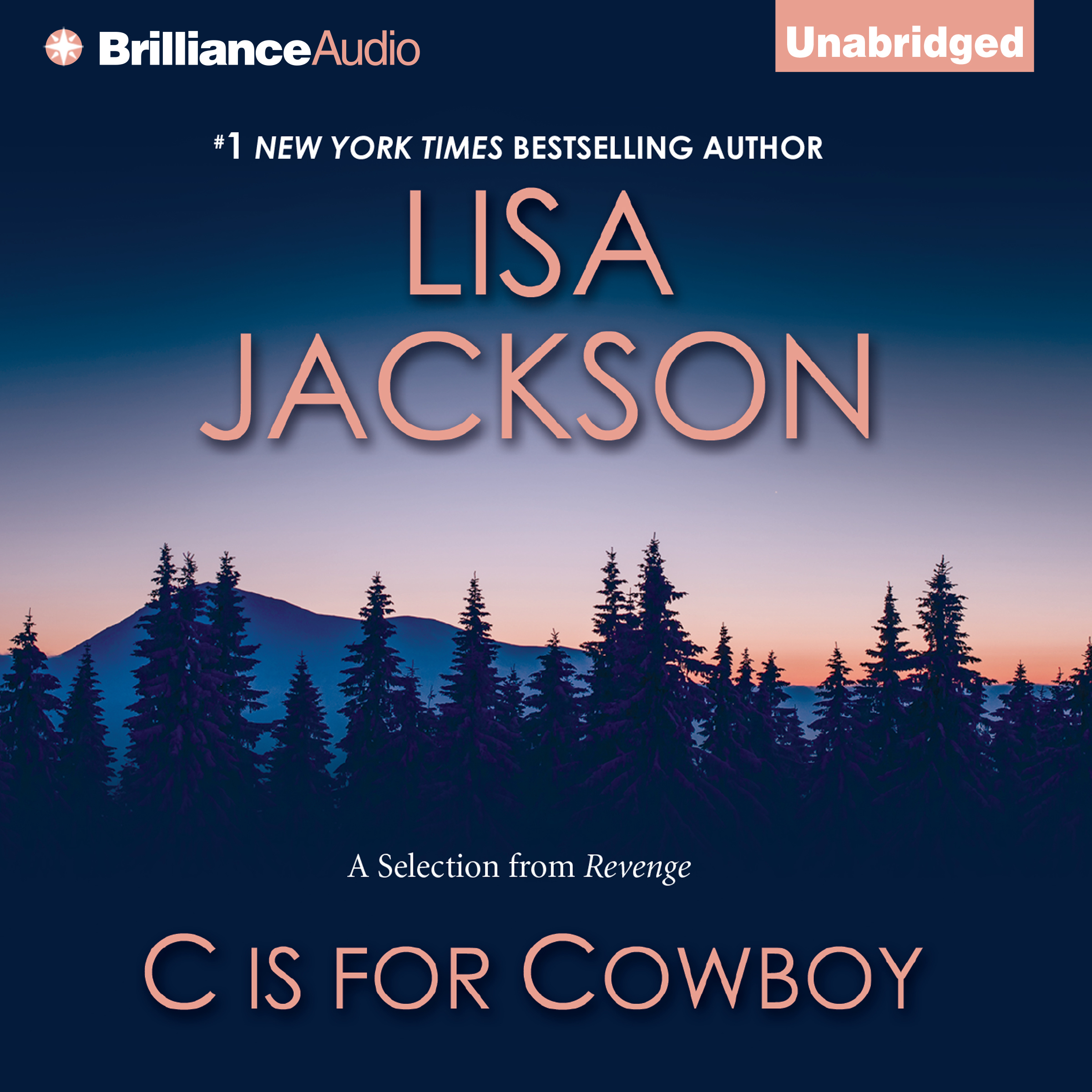Printable C is for Cowboy: A Selection from Revenge Audiobook Cover Art