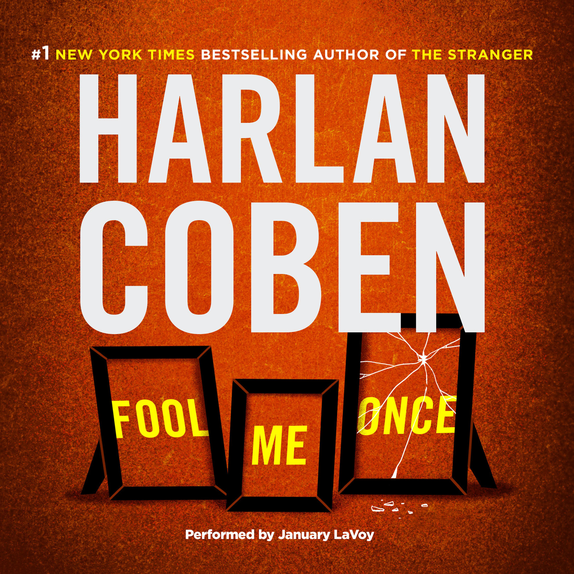 Printable Fool Me Once Audiobook Cover Art
