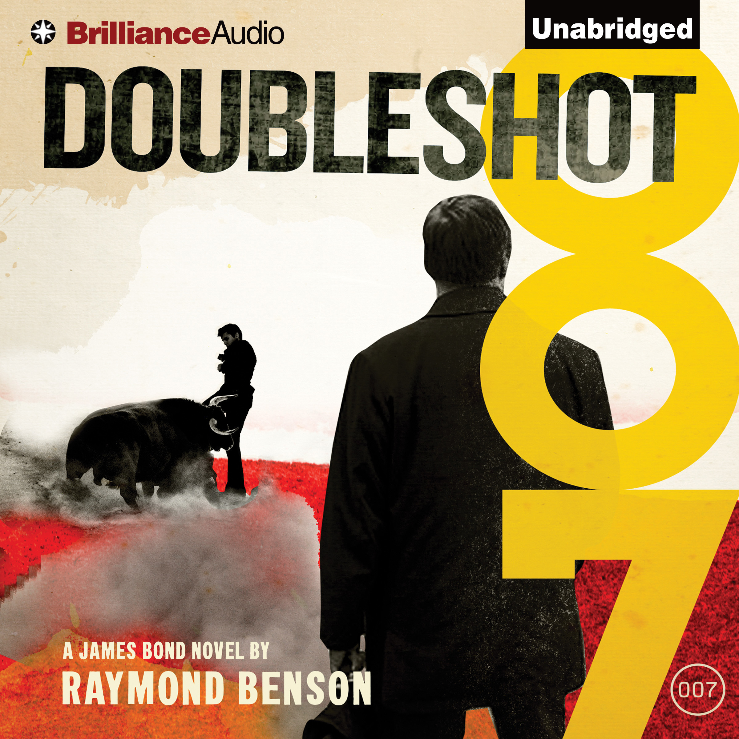 Printable Doubleshot Audiobook Cover Art
