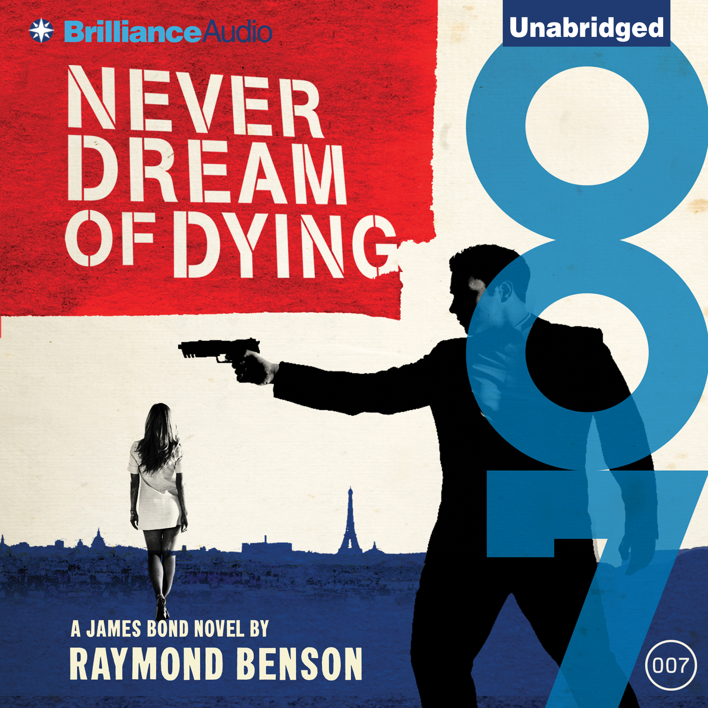Printable Never Dream of Dying Audiobook Cover Art