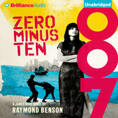 Zero Minus Ten Audiobook, by Raymond Benson