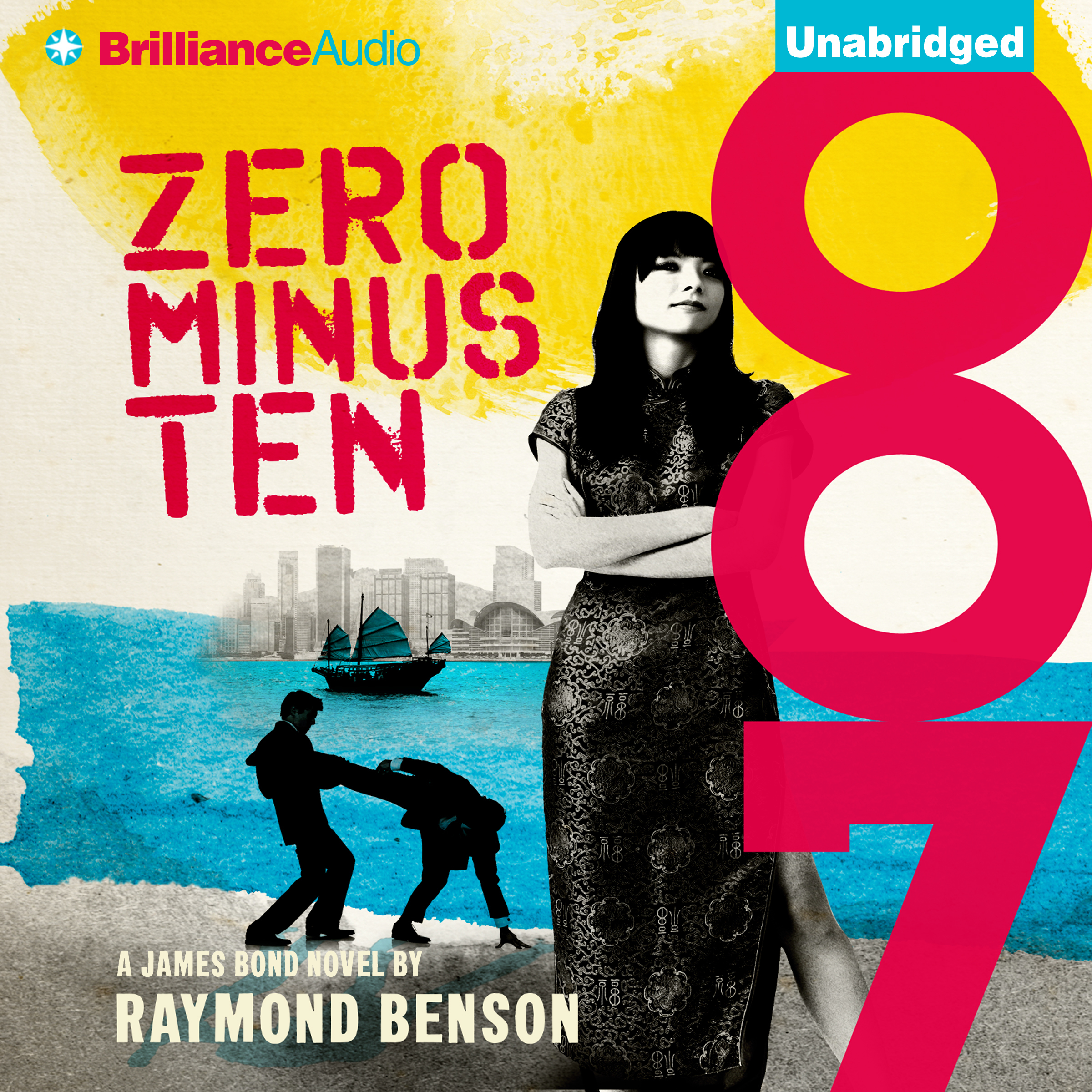 Printable Zero Minus Ten Audiobook Cover Art