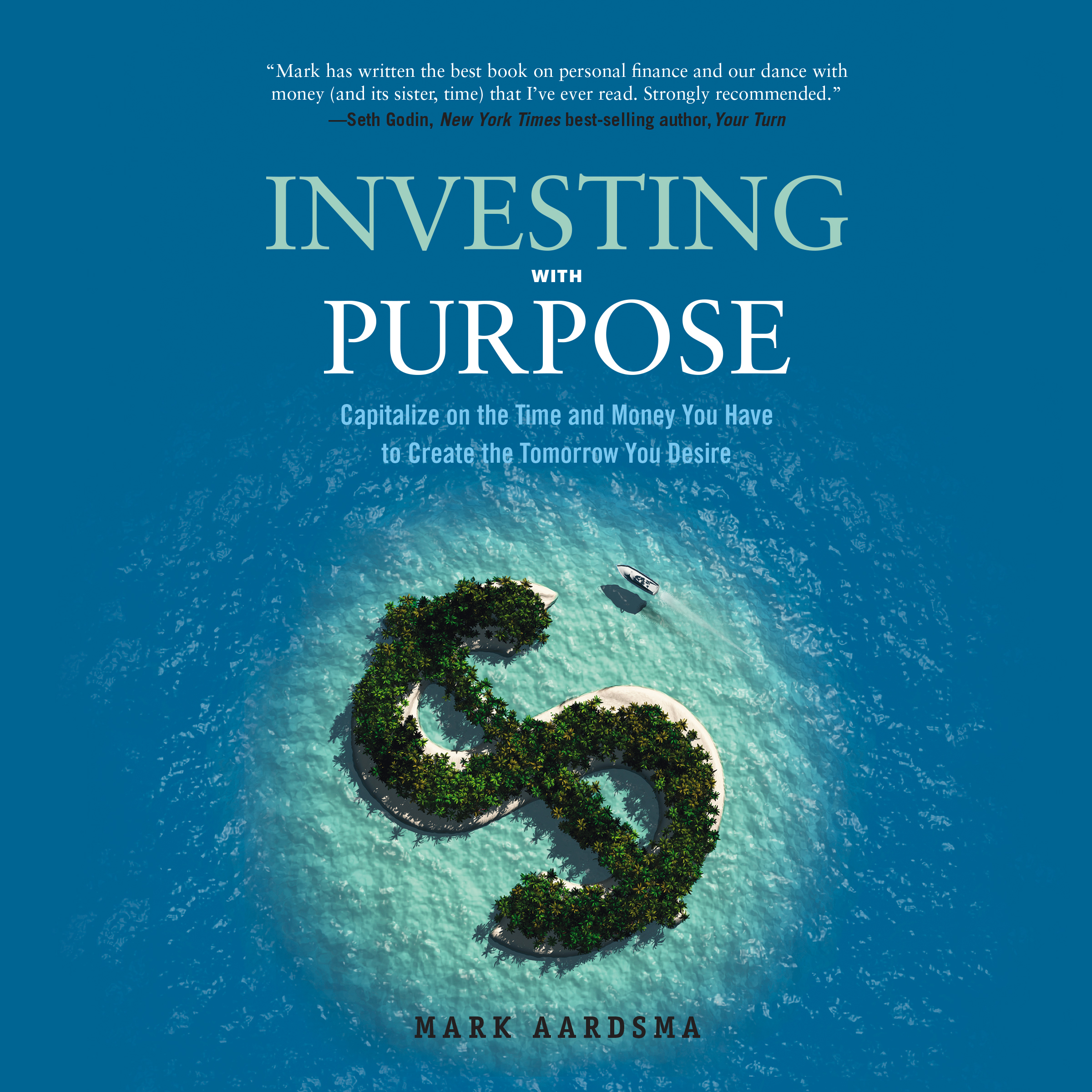 Printable Investing with Purpose: Capitalize on the Time and Money You Have to Create the Tomorrow You Desire Audiobook Cover Art