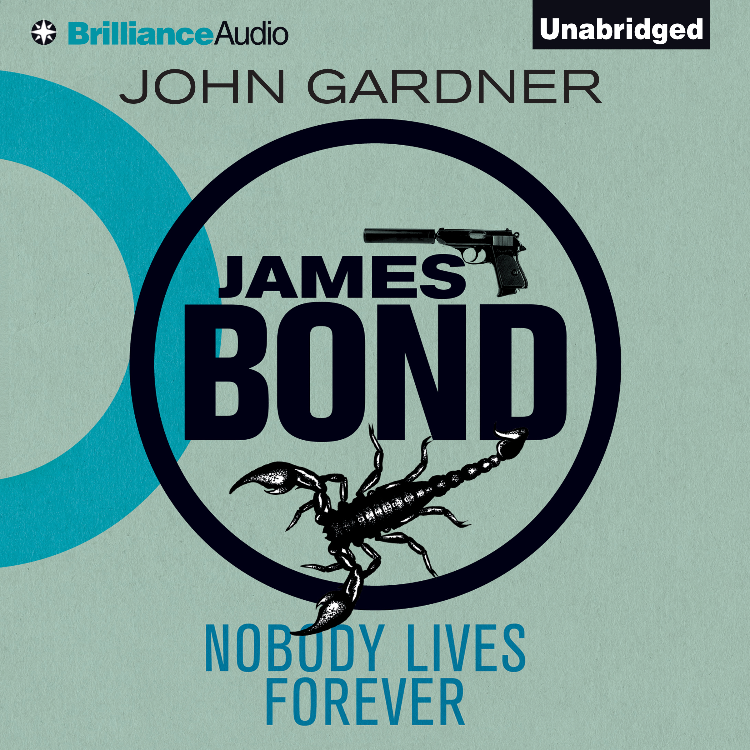 Printable Nobody Lives Forever Audiobook Cover Art