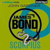 Scorpius Audiobook, by John Gardner