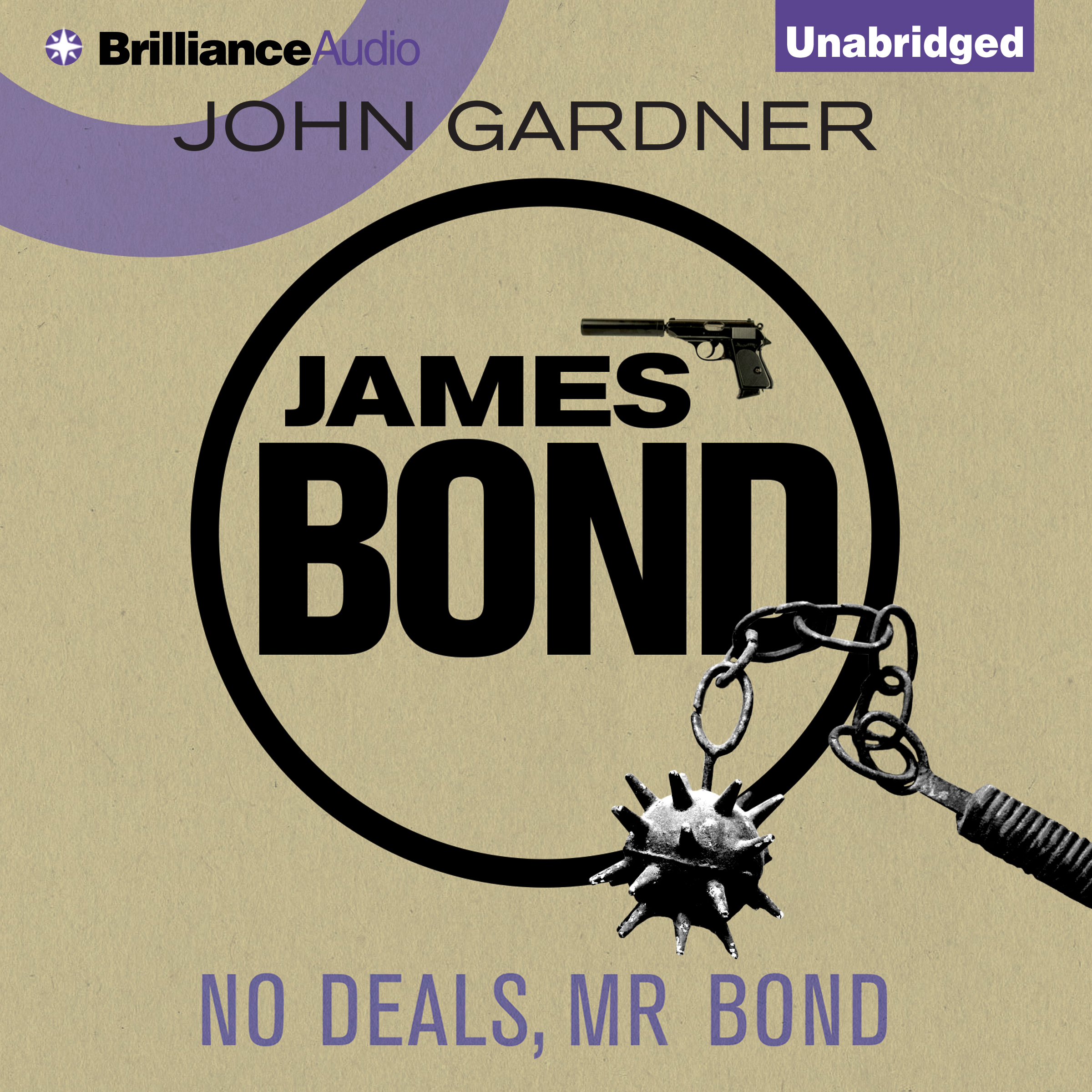 Printable No Deals, Mr. Bond Audiobook Cover Art
