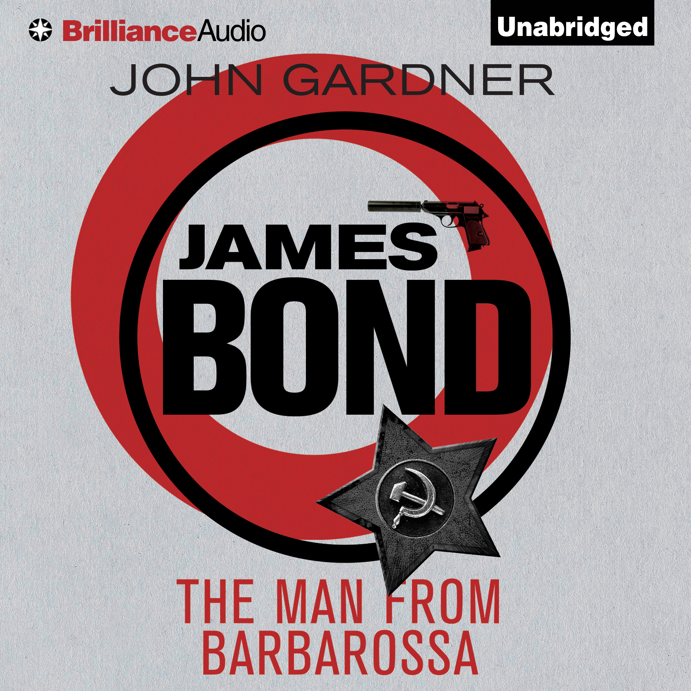 Printable The Man from Barbarossa Audiobook Cover Art