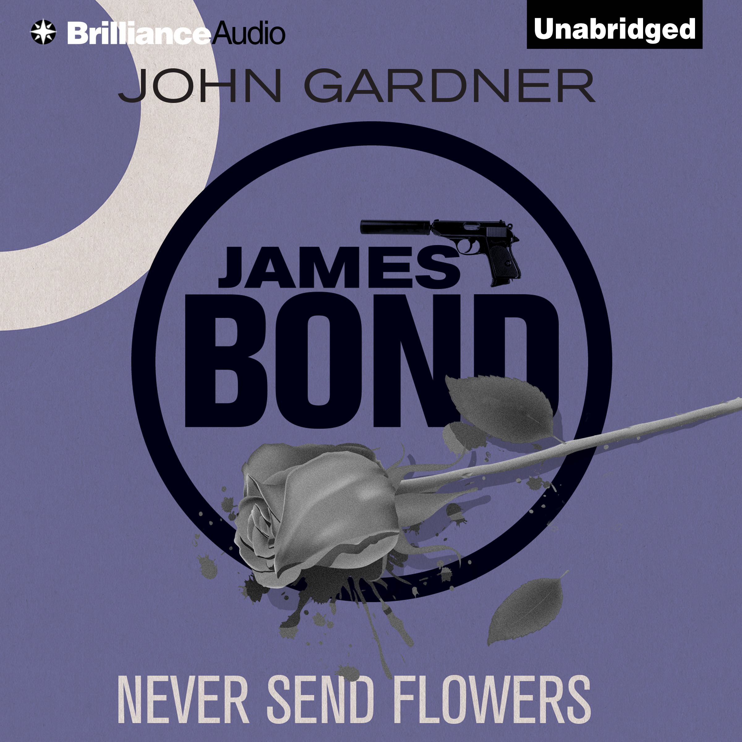 Printable Never Send Flowers Audiobook Cover Art