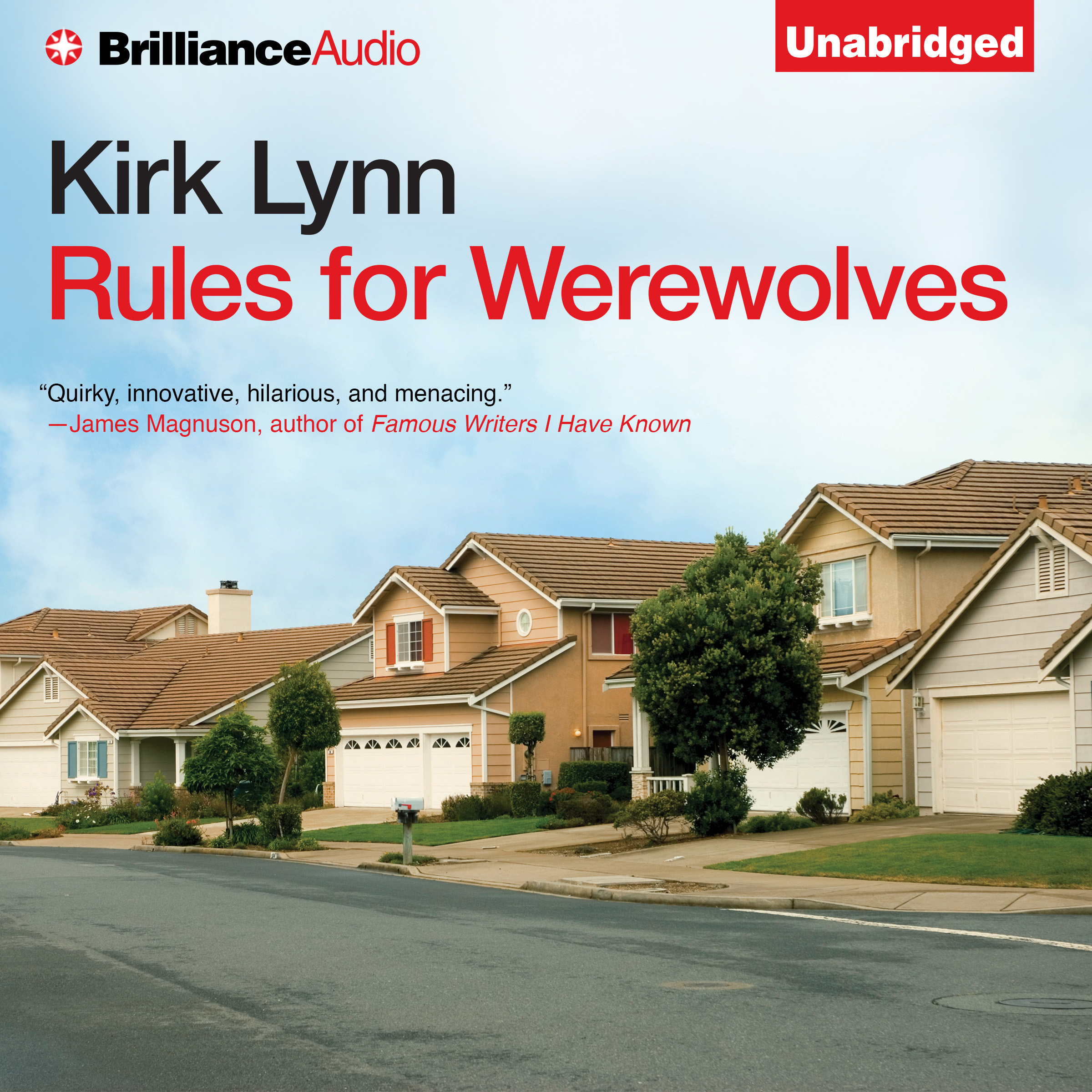 Printable Rules for Werewolves Audiobook Cover Art