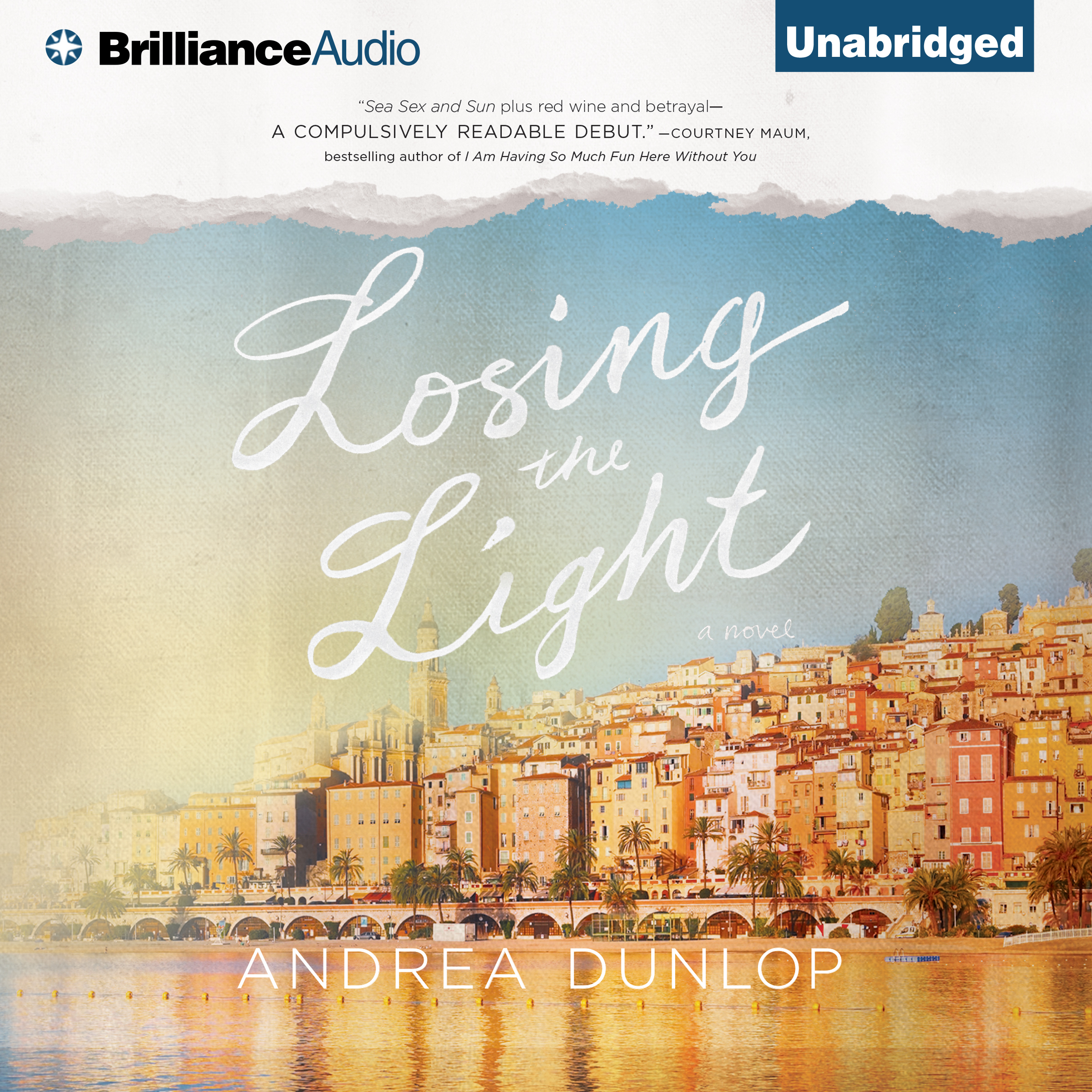 Printable Losing the Light: A Novel Audiobook Cover Art