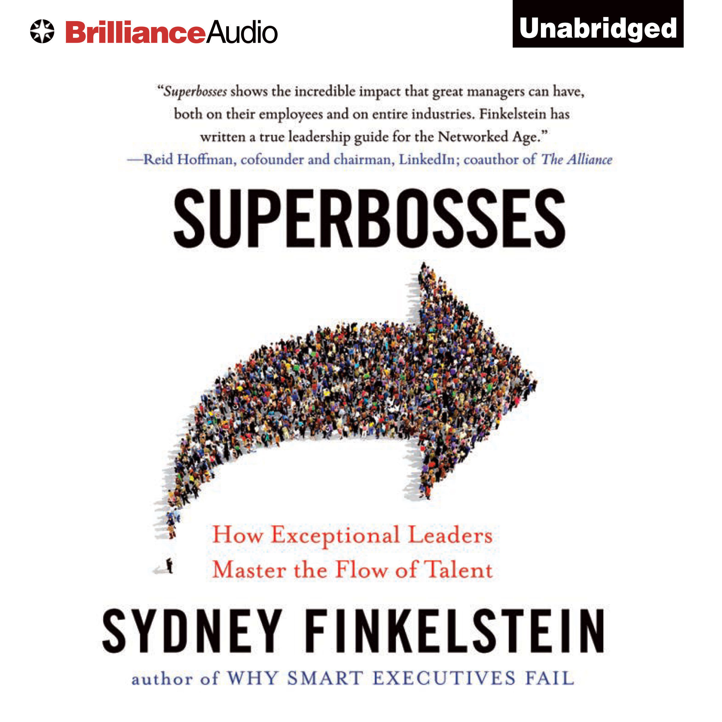 Printable Superbosses: How Exceptional Leaders Master the Flow of Talent Audiobook Cover Art
