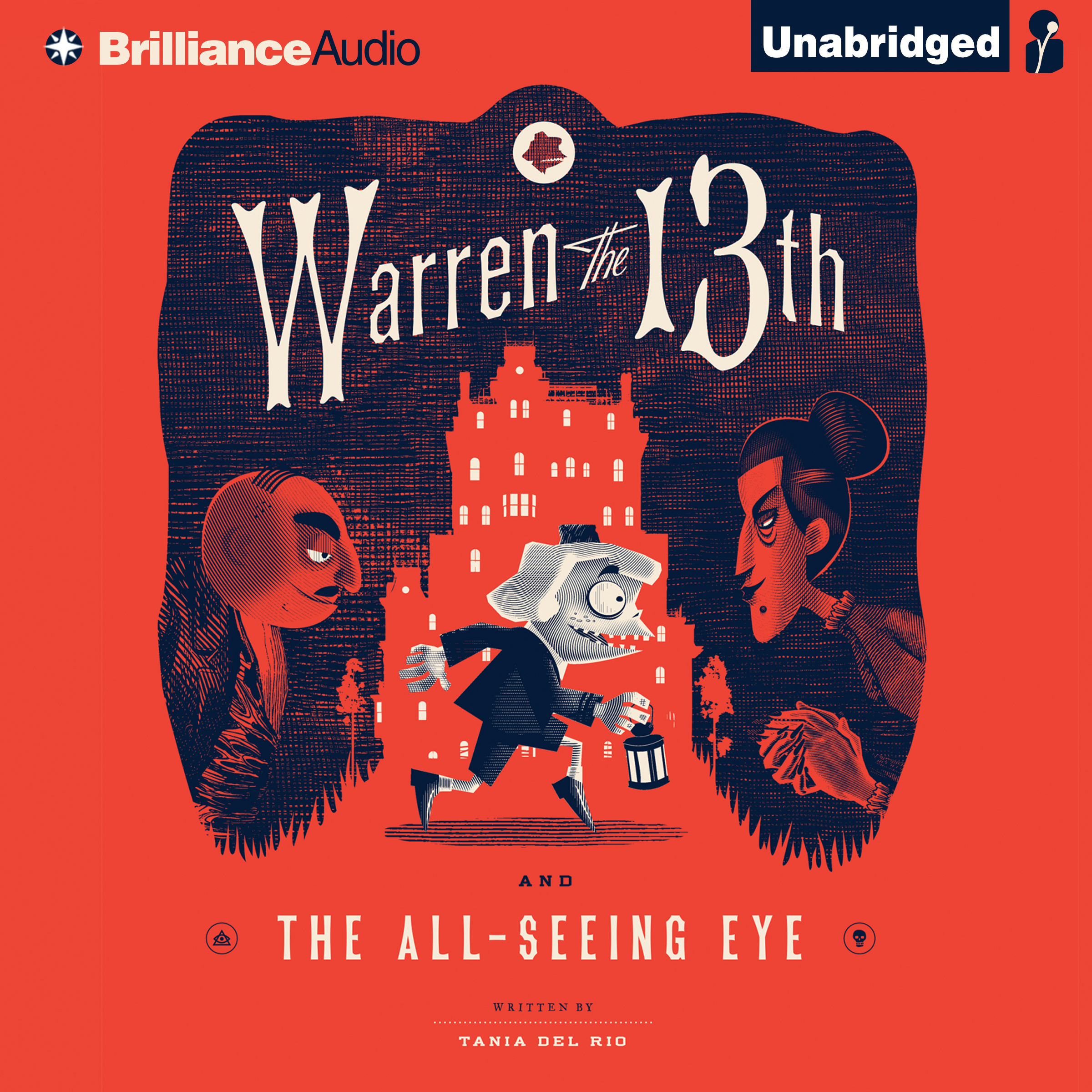 Printable Warren the 13th and the All-Seeing Eye Audiobook Cover Art