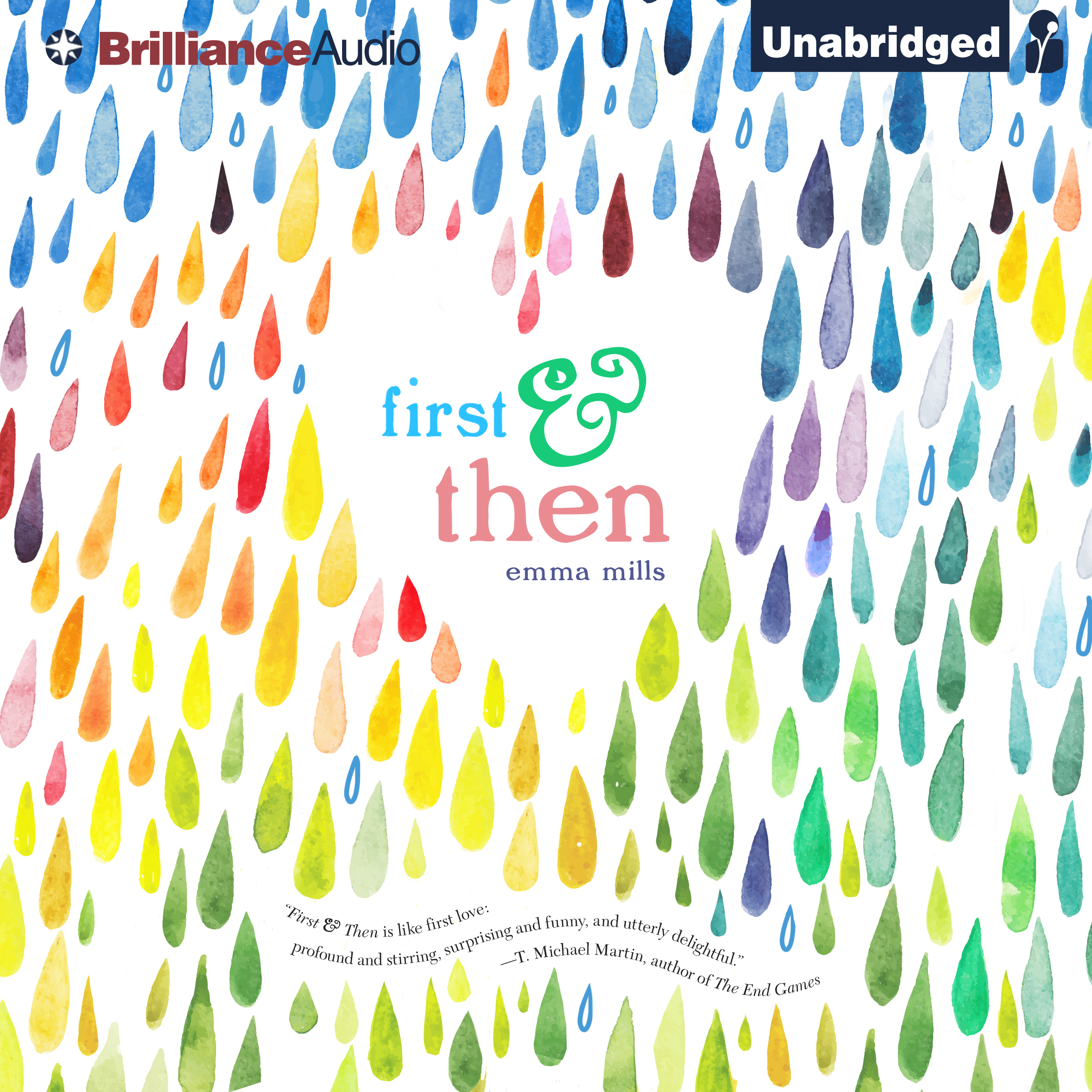 Printable First & Then Audiobook Cover Art
