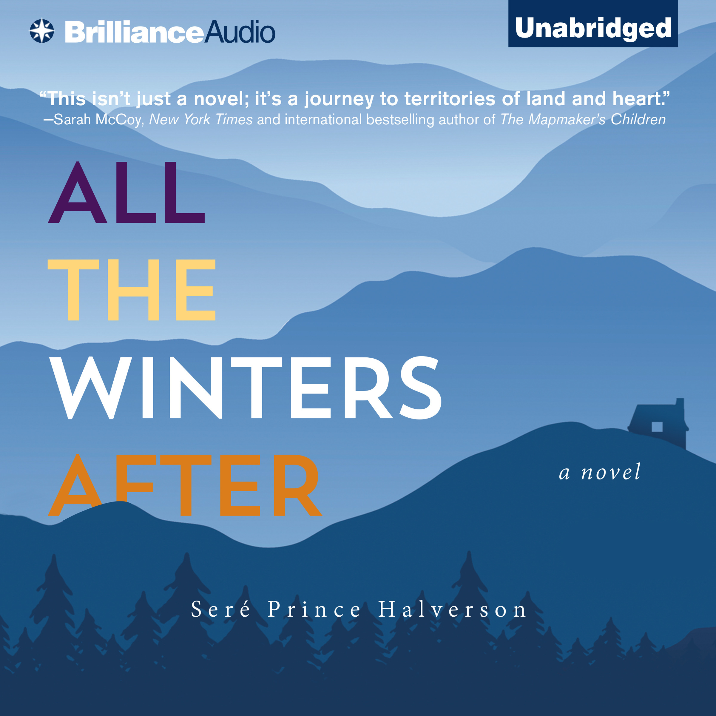 Printable All the Winters After: A Novel Audiobook Cover Art