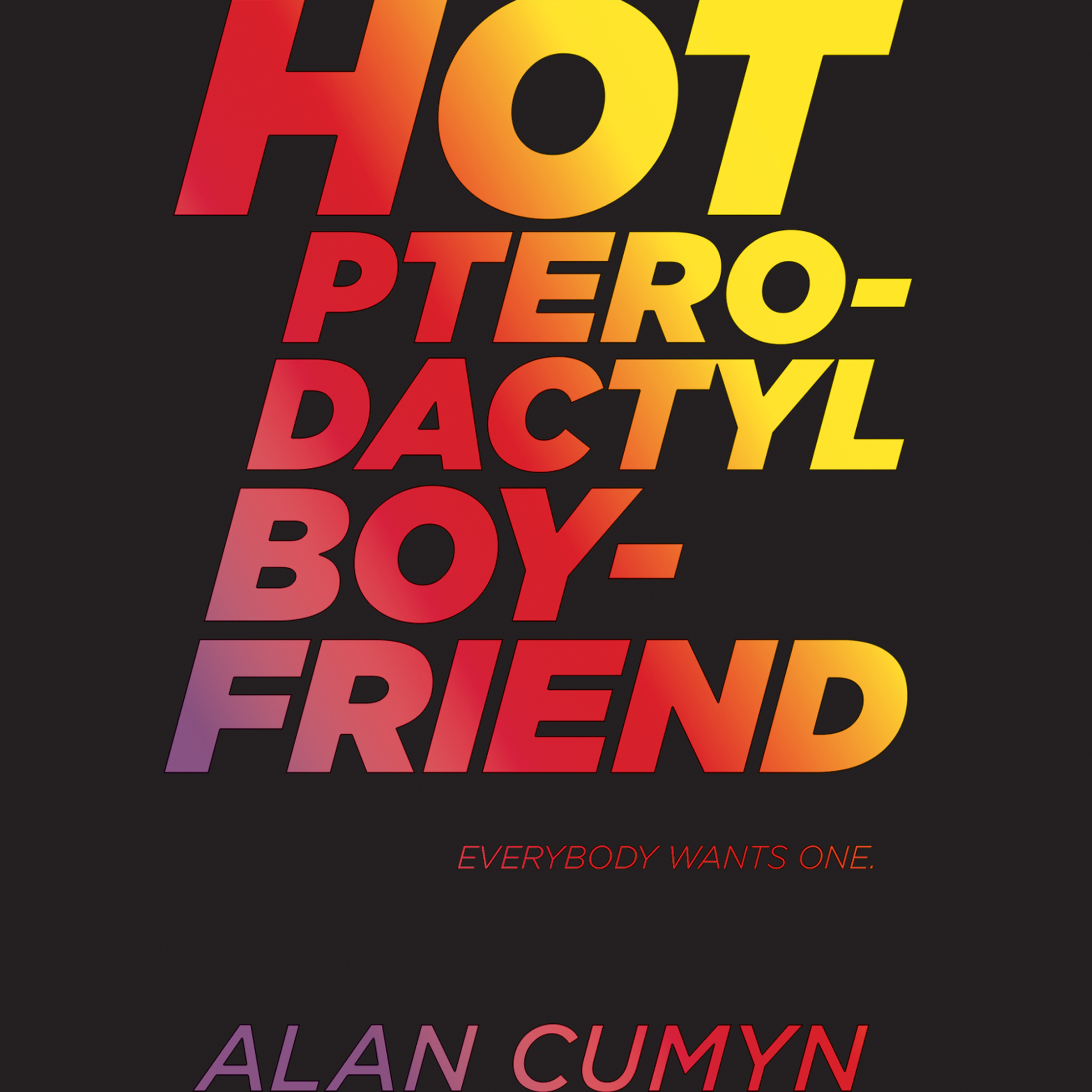 Printable Hot Pterodactyl Boyfriend Audiobook Cover Art