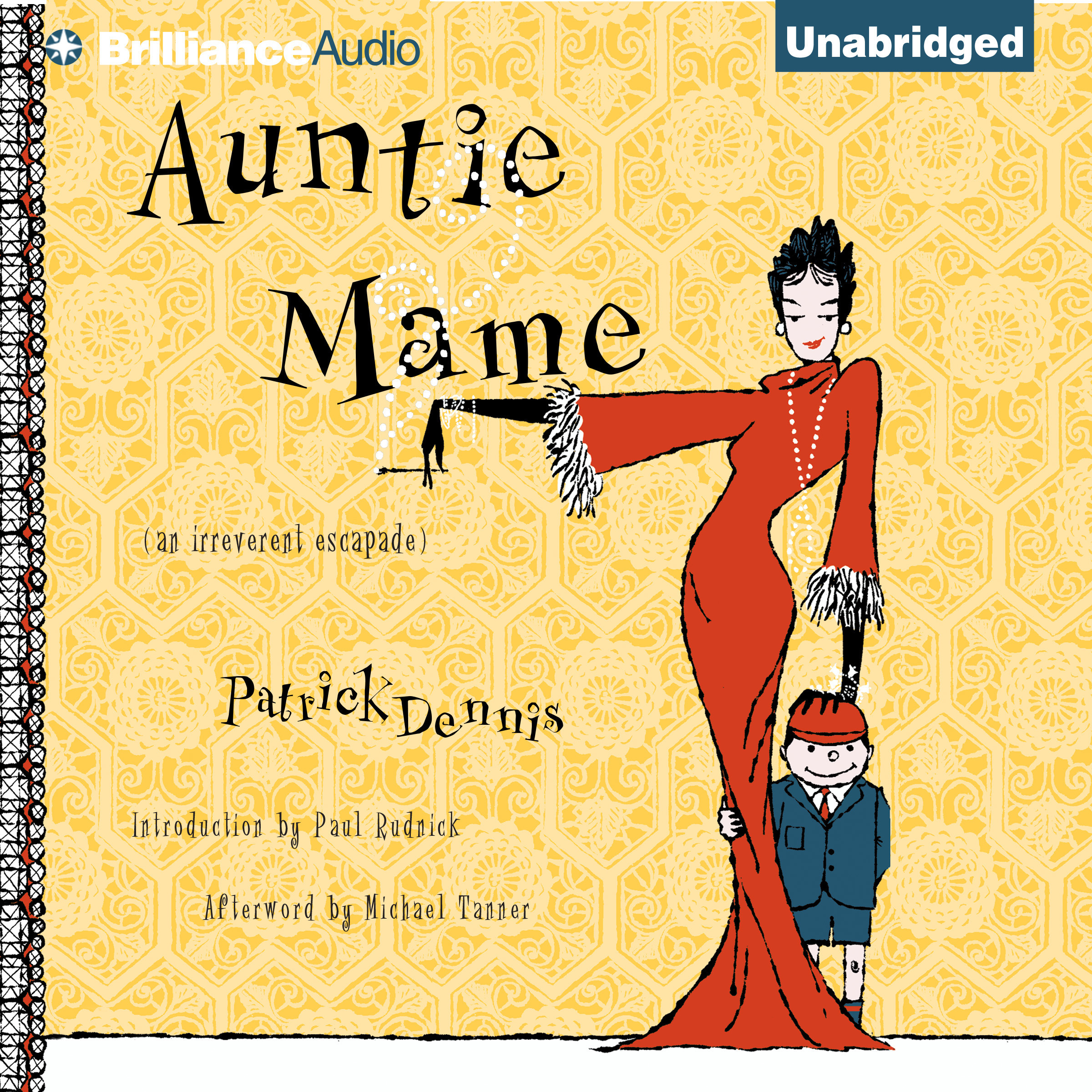 Printable Auntie Mame: An Irreverent Escapade Audiobook Cover Art