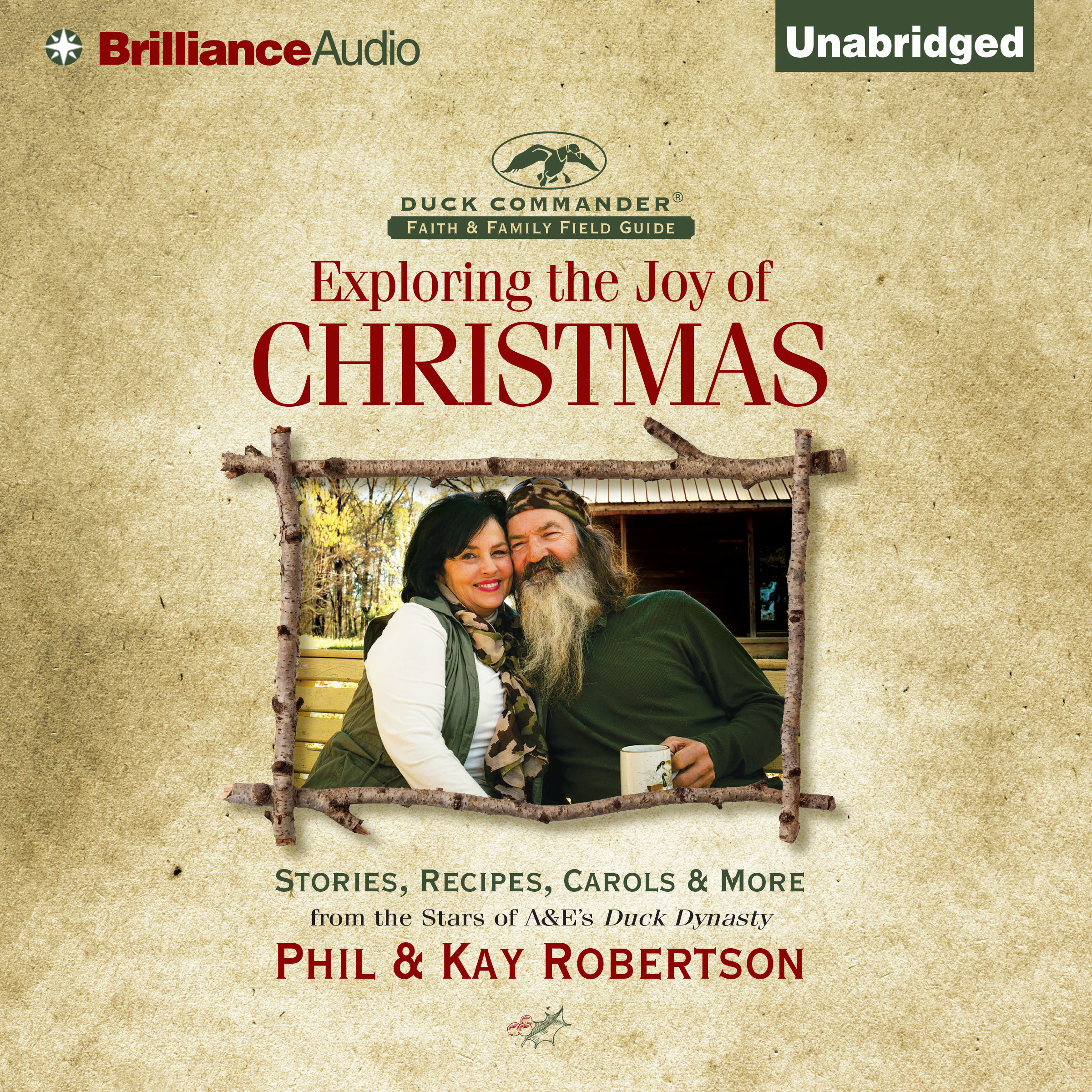 Printable Exploring the Joy of Christmas: A Duck Commander Faith and Family Field Guide Audiobook Cover Art