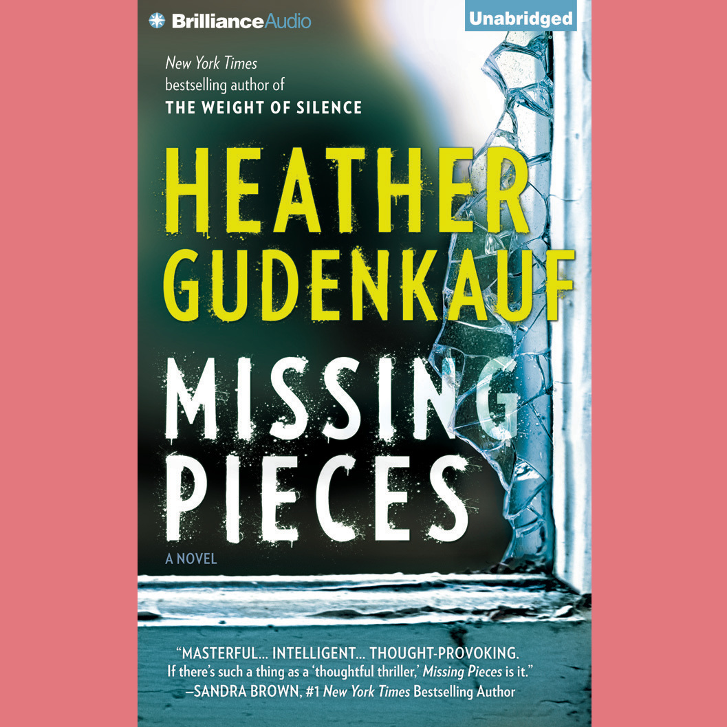 Printable Missing Pieces Audiobook Cover Art