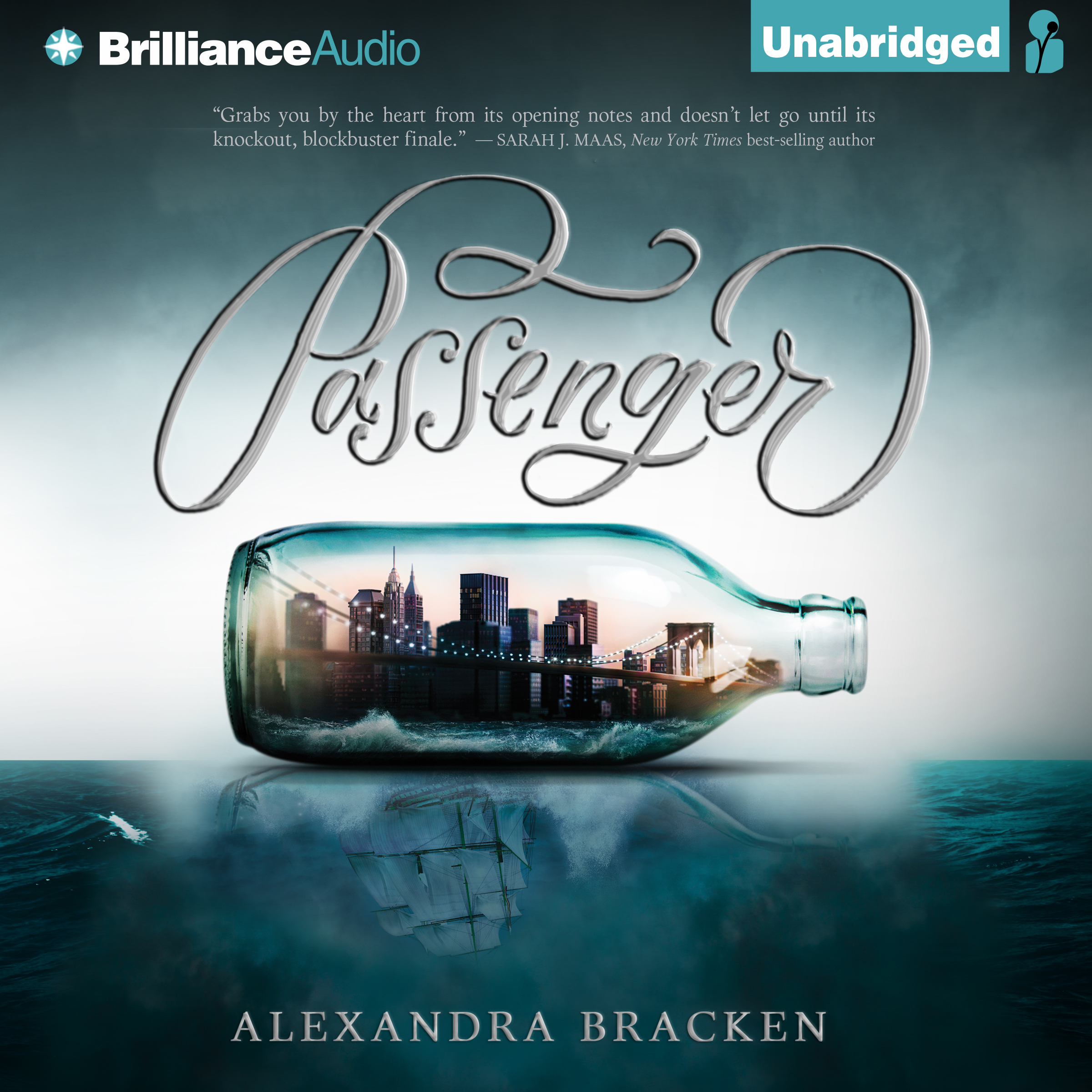 Printable Passenger Audiobook Cover Art