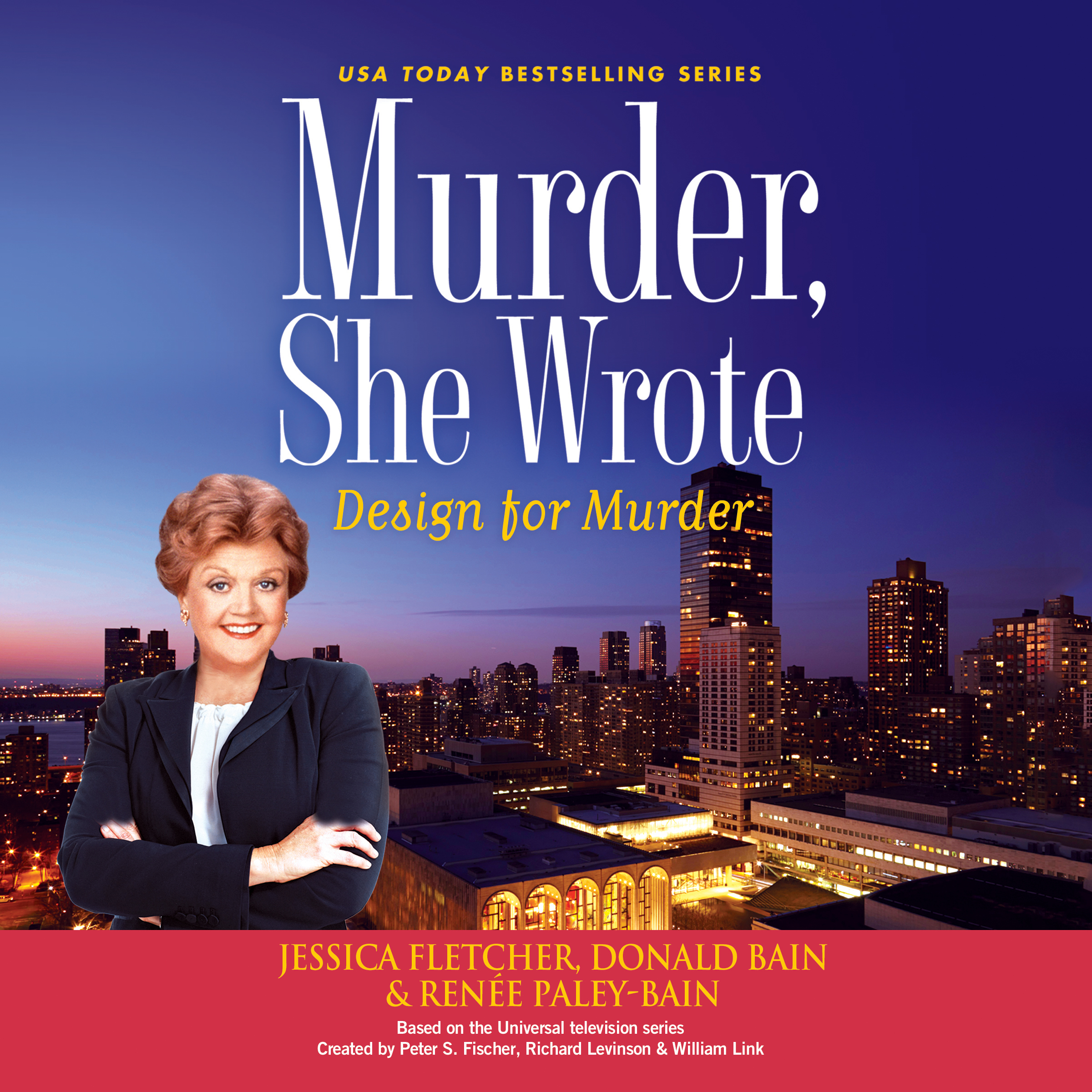 Printable Murder, She Wrote: Design for Murder Audiobook Cover Art