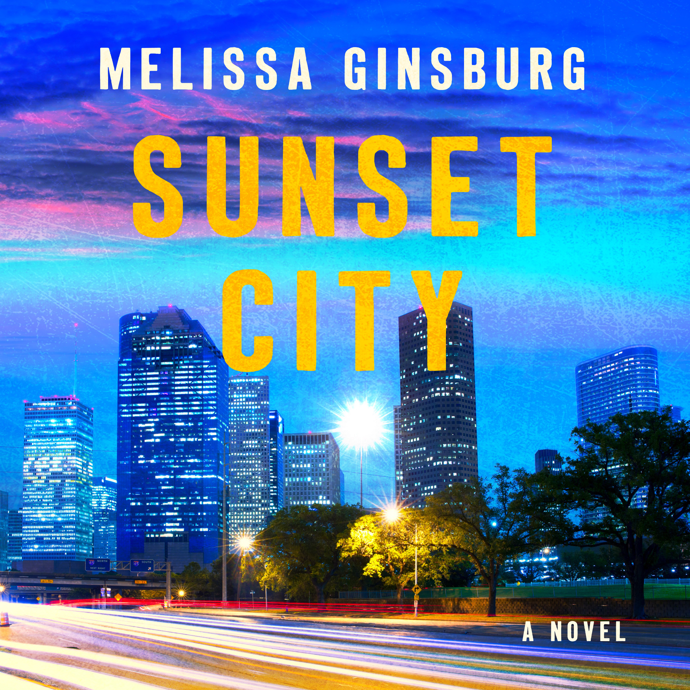 Printable Sunset City: A Novel Audiobook Cover Art
