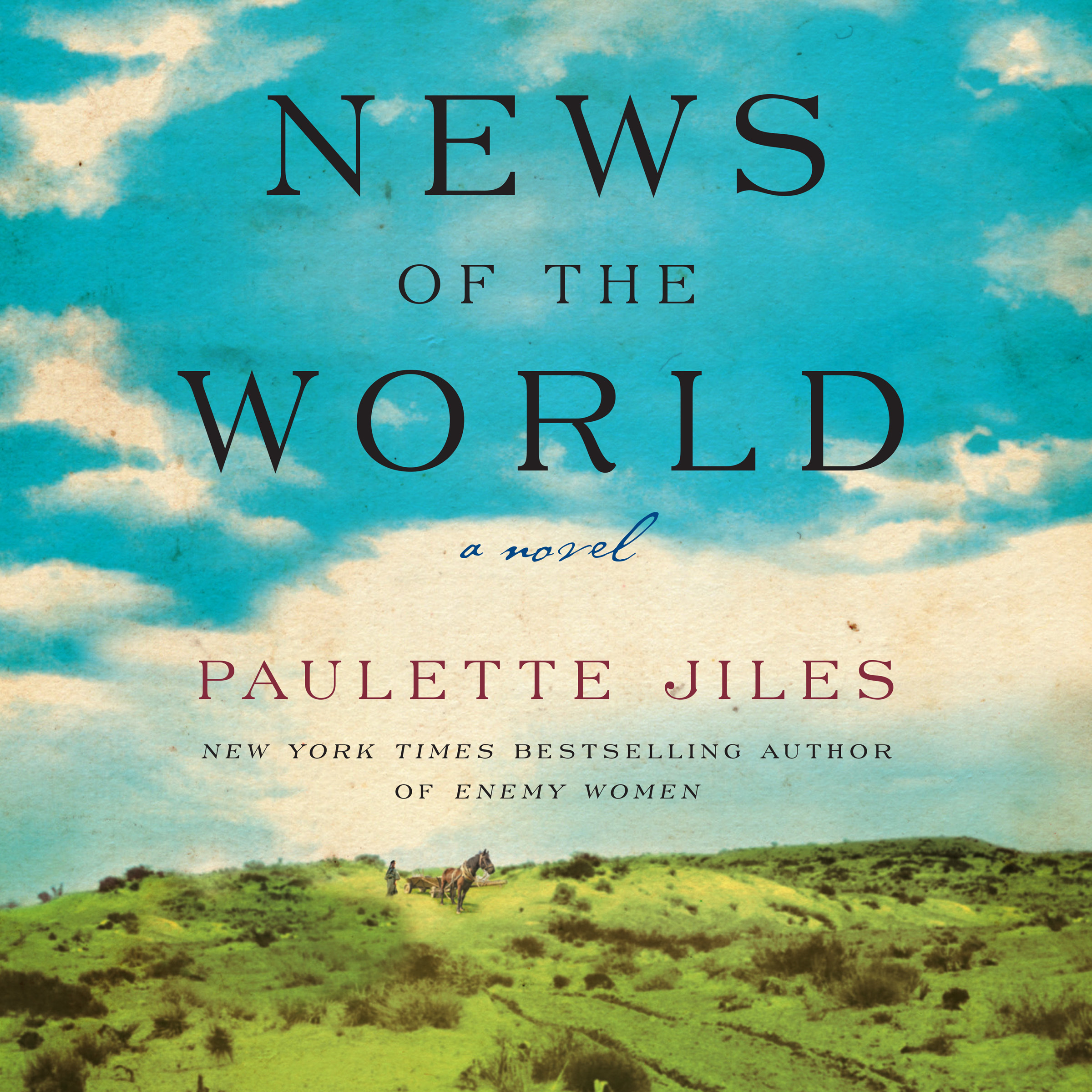 Printable News of the World: A Novel Audiobook Cover Art