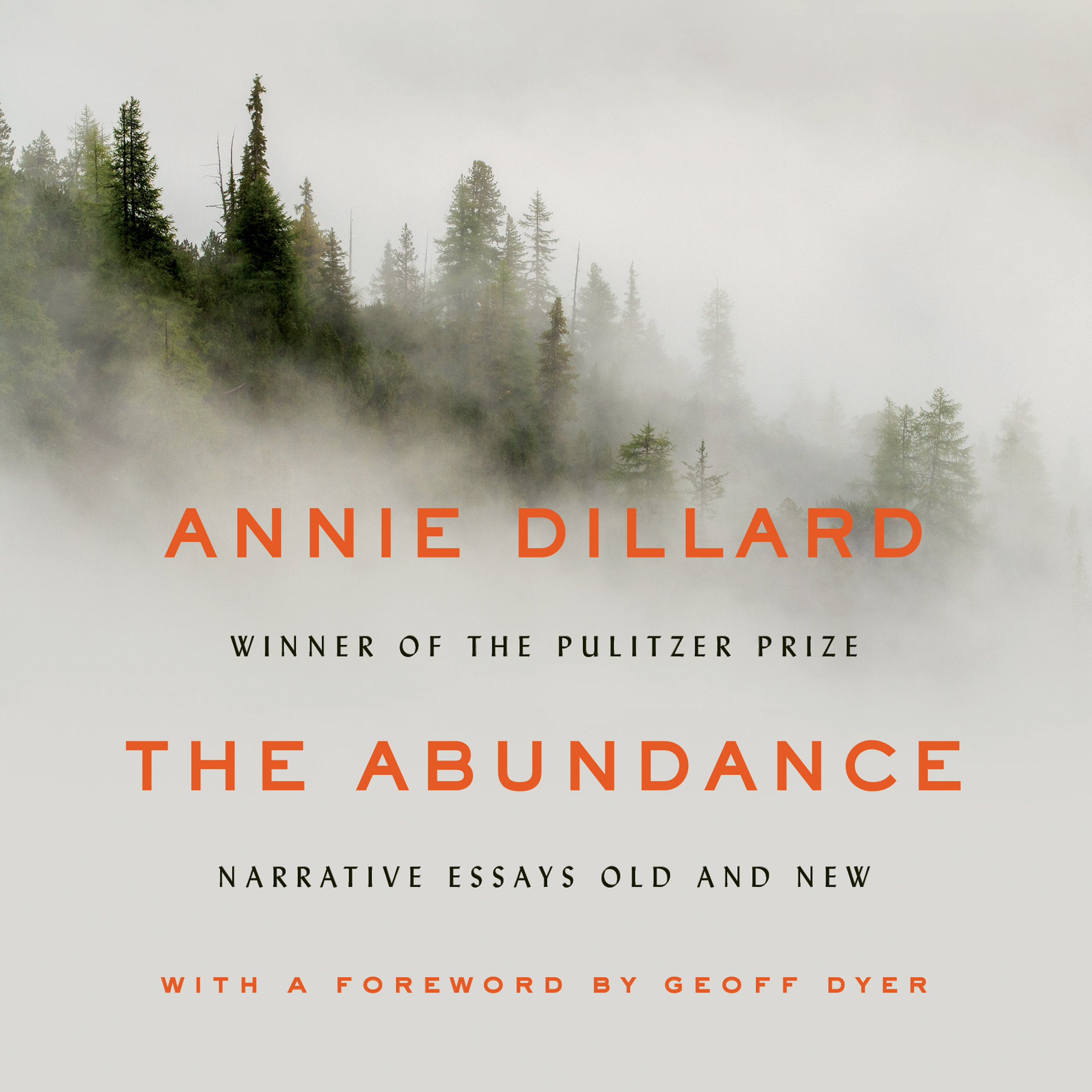 Printable The Abundance: Narrative Essays Old and New Audiobook Cover Art
