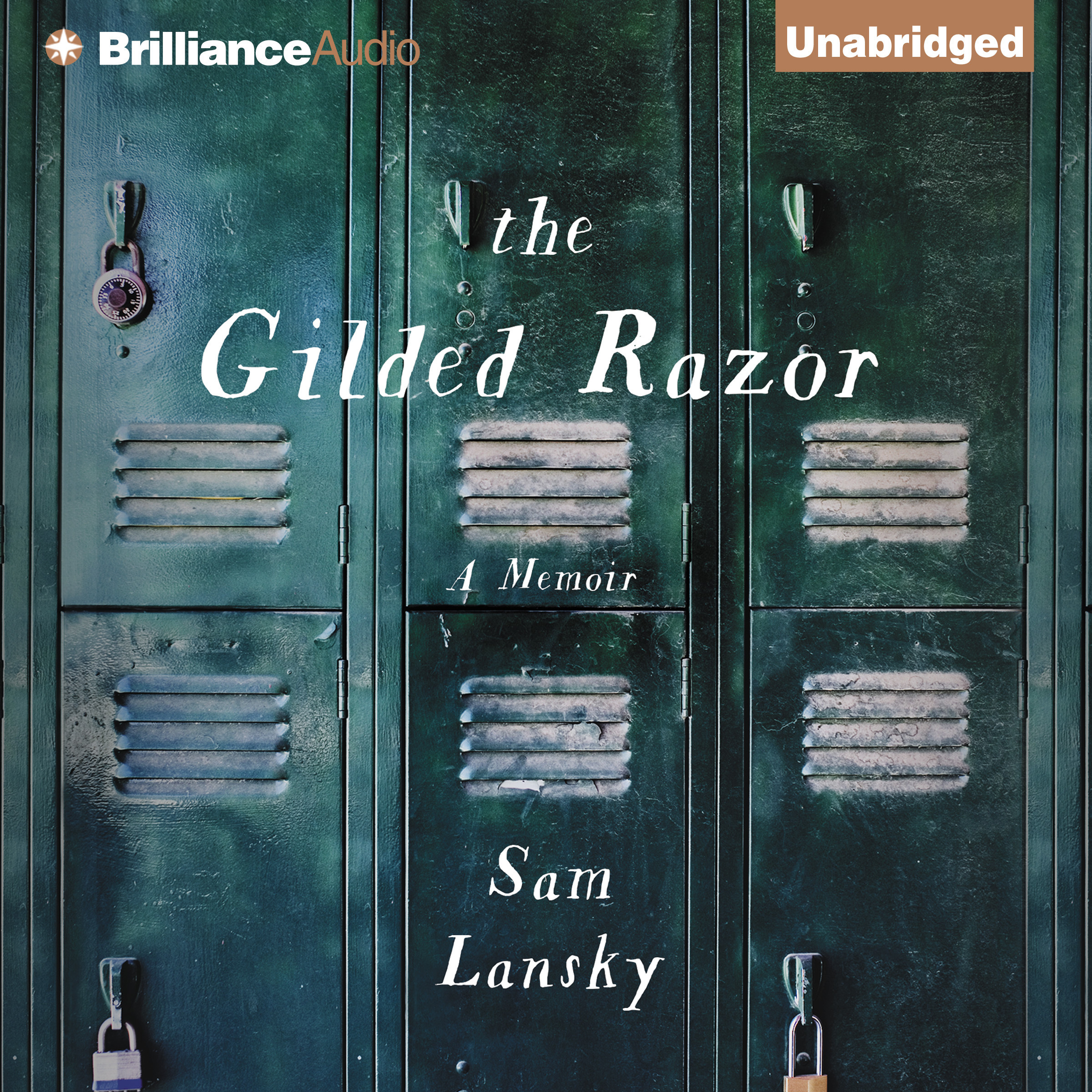 Printable The Gilded Razor: A Memoir Audiobook Cover Art