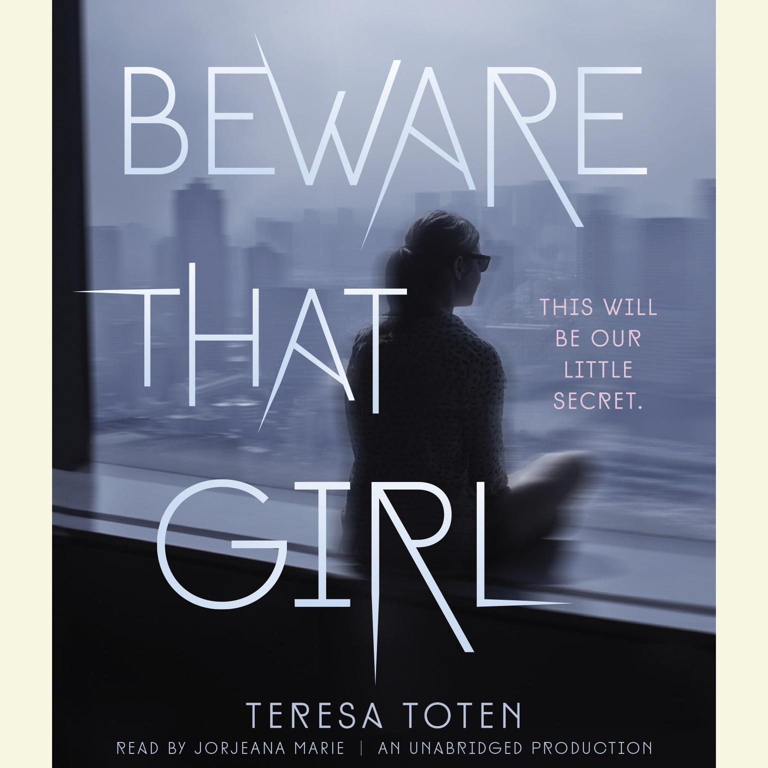 Printable Beware That Girl Audiobook Cover Art