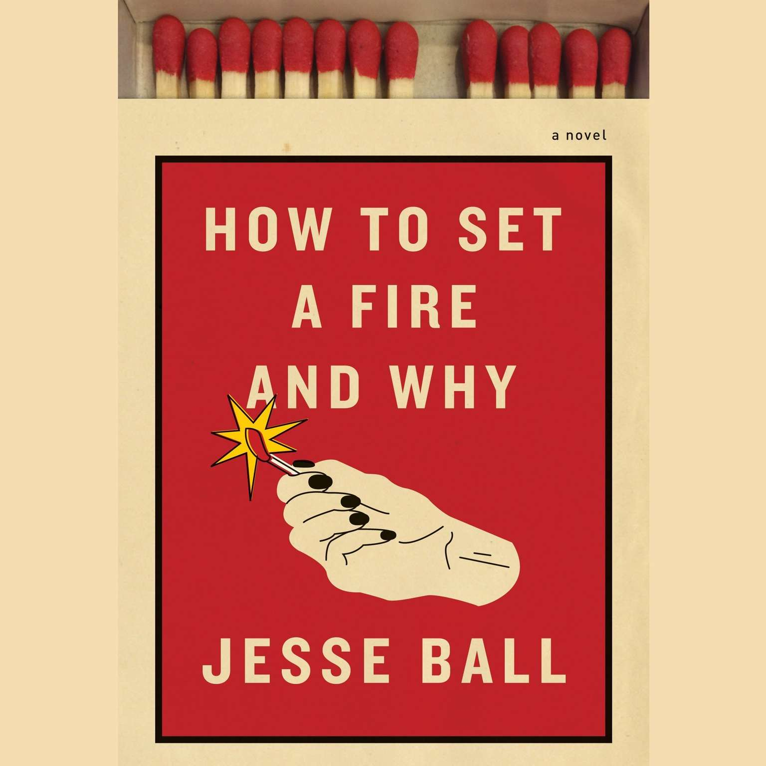 Printable How to Set a Fire and Why: A Novel Audiobook Cover Art