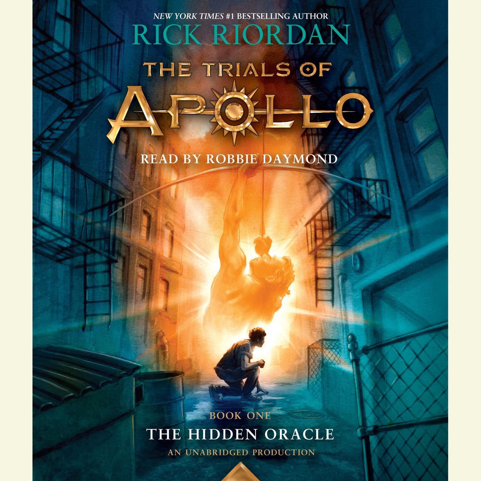 Printable  The Hidden Oracle Audiobook Cover Art