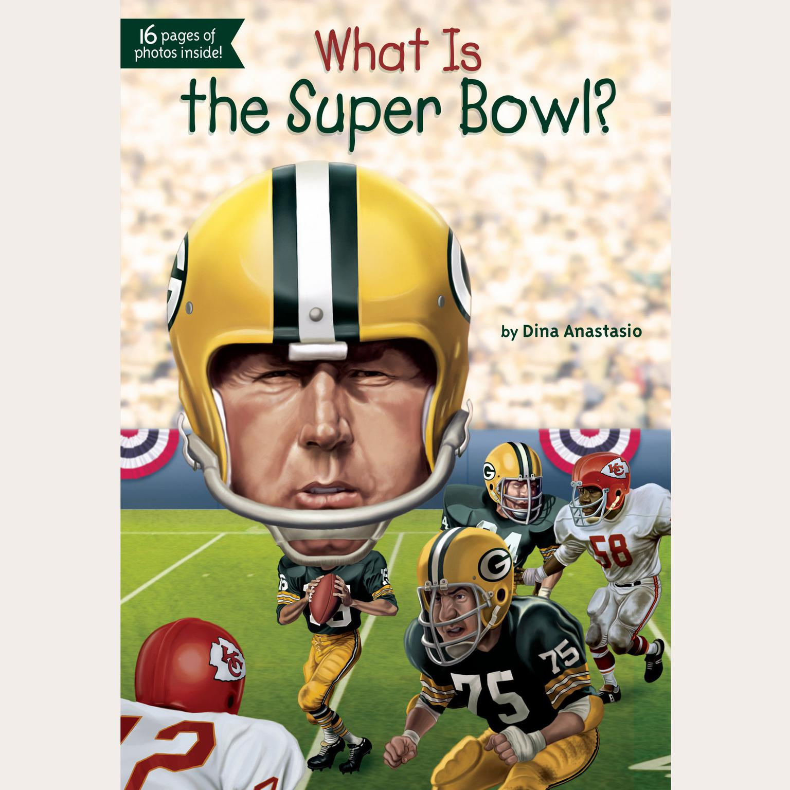 Printable What Is the Super Bowl? Audiobook Cover Art
