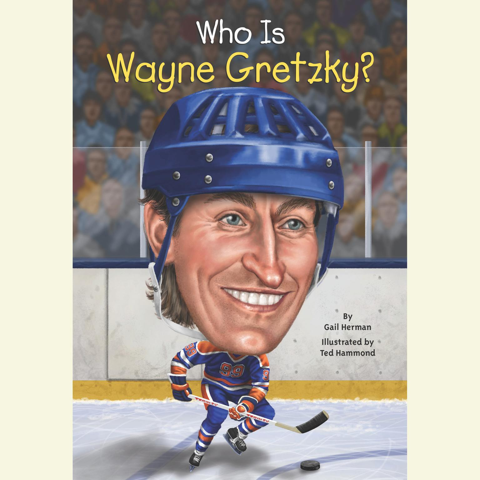 Printable Who Is Wayne Gretzky? Audiobook Cover Art