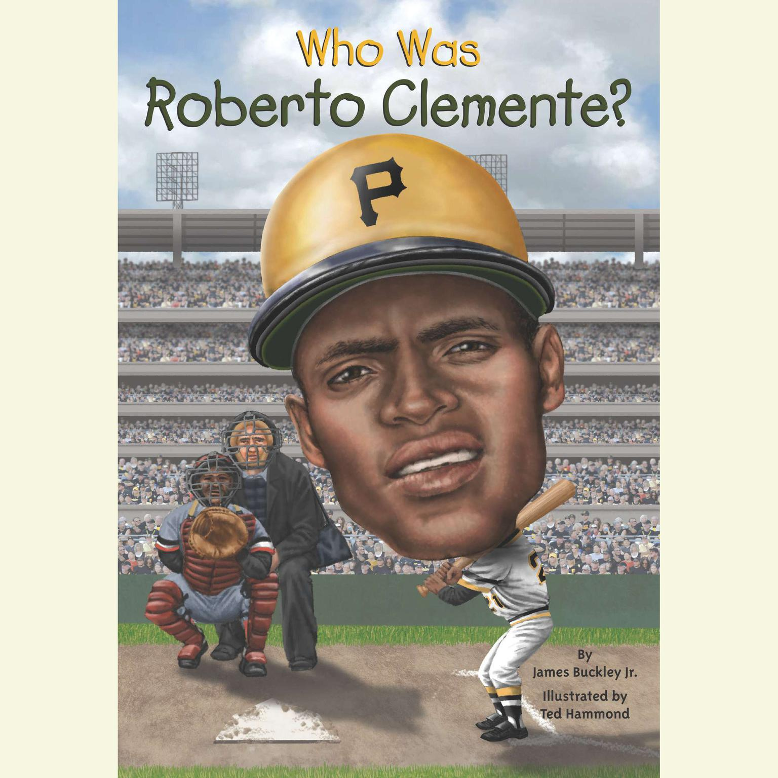 Printable Who Was Roberto Clemente? Audiobook Cover Art