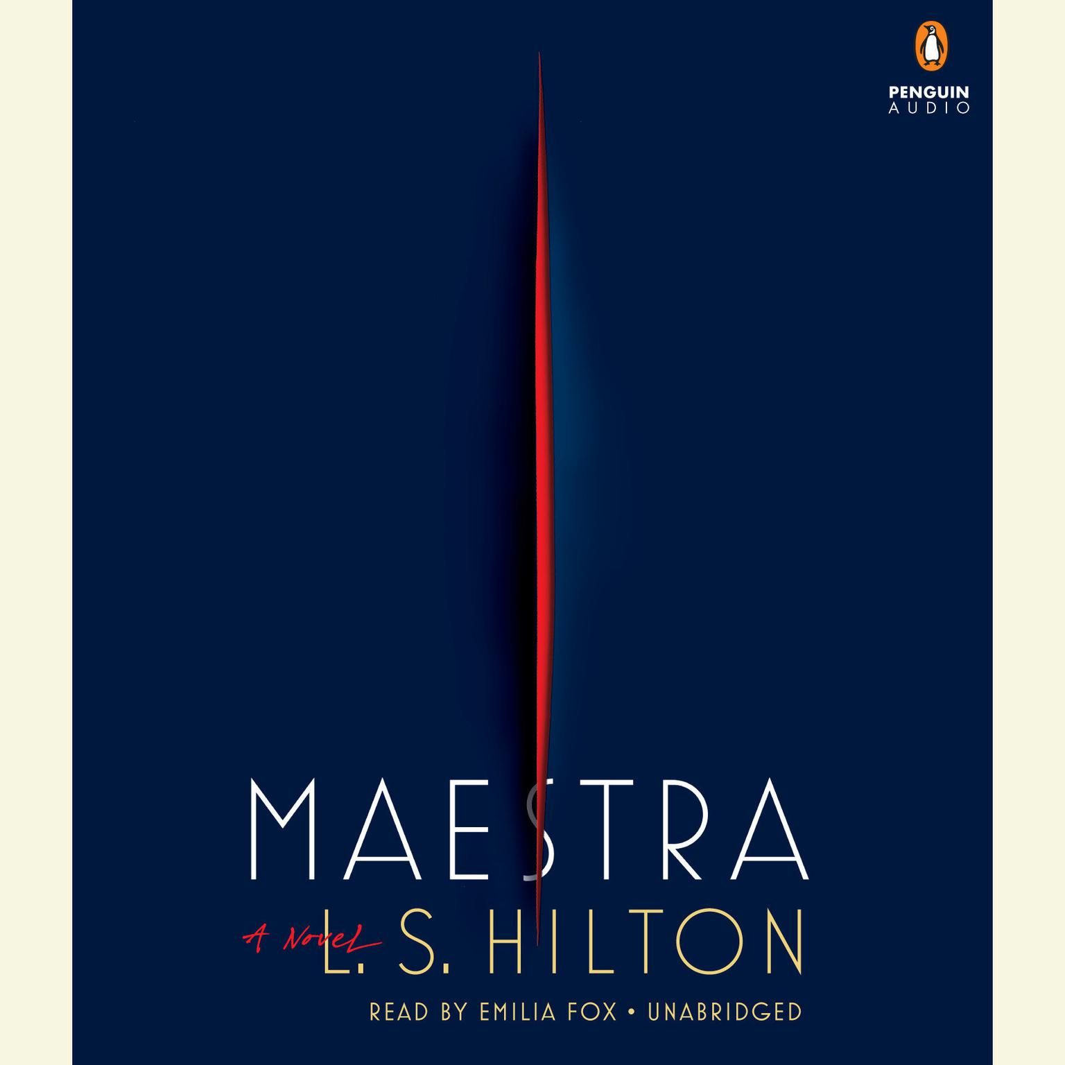 Printable Maestra: A Novel Audiobook Cover Art