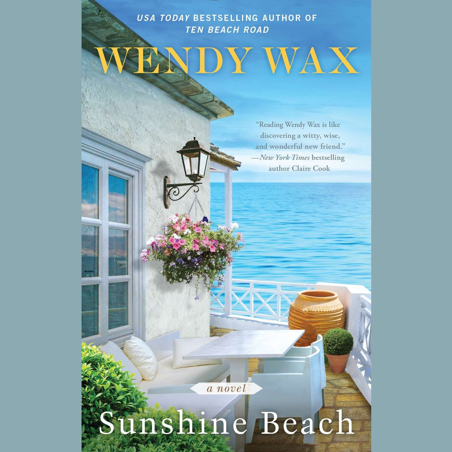 Printable Sunshine Beach: Ten Beach Road Novel Audiobook Cover Art