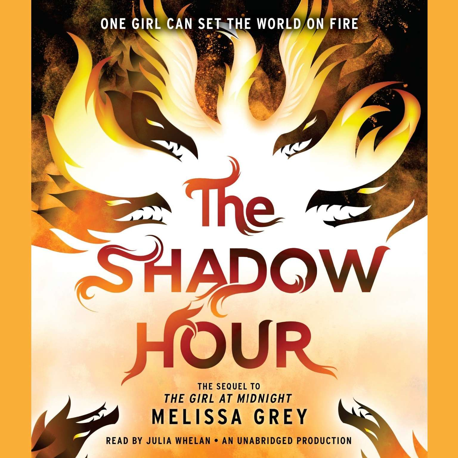 Printable The Shadow Hour Audiobook Cover Art