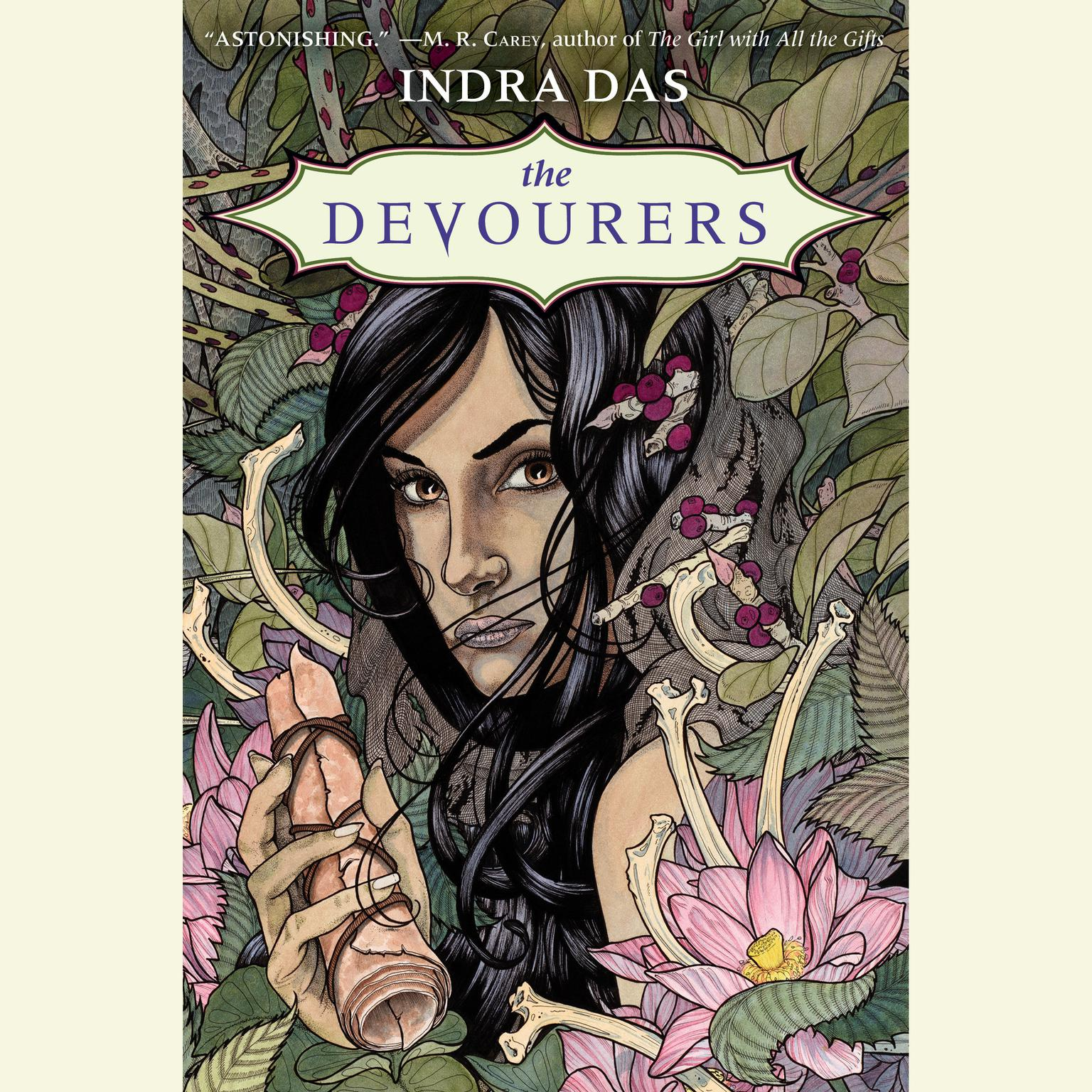 Printable The Devourers Audiobook Cover Art