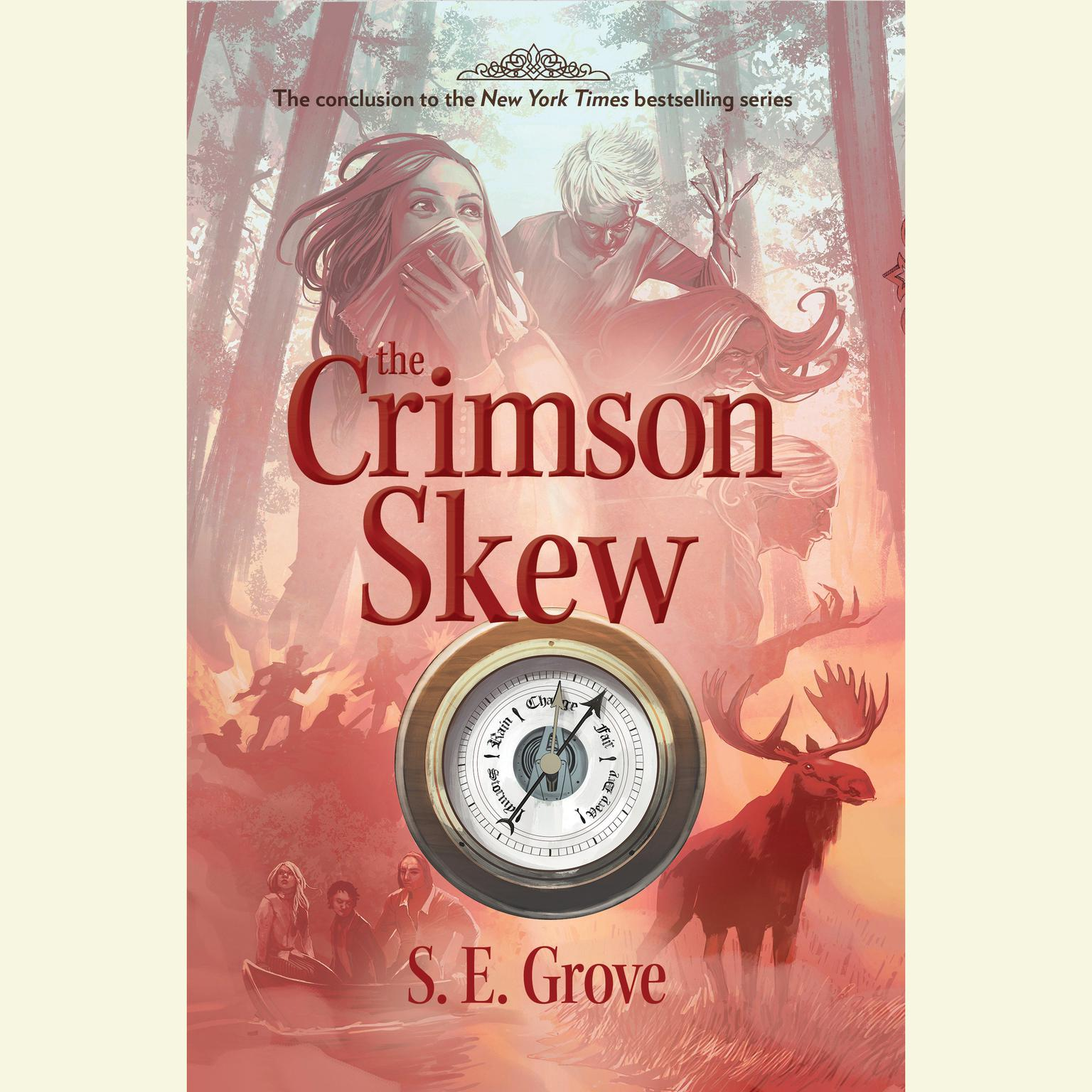Printable The Crimson Skew Audiobook Cover Art