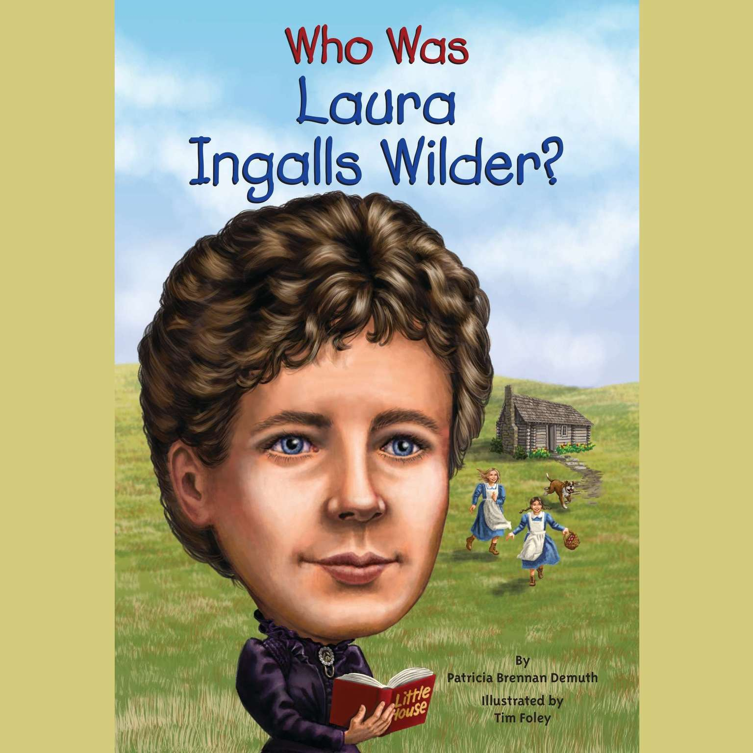 Printable Who Was Laura Ingalls Wilder? Audiobook Cover Art