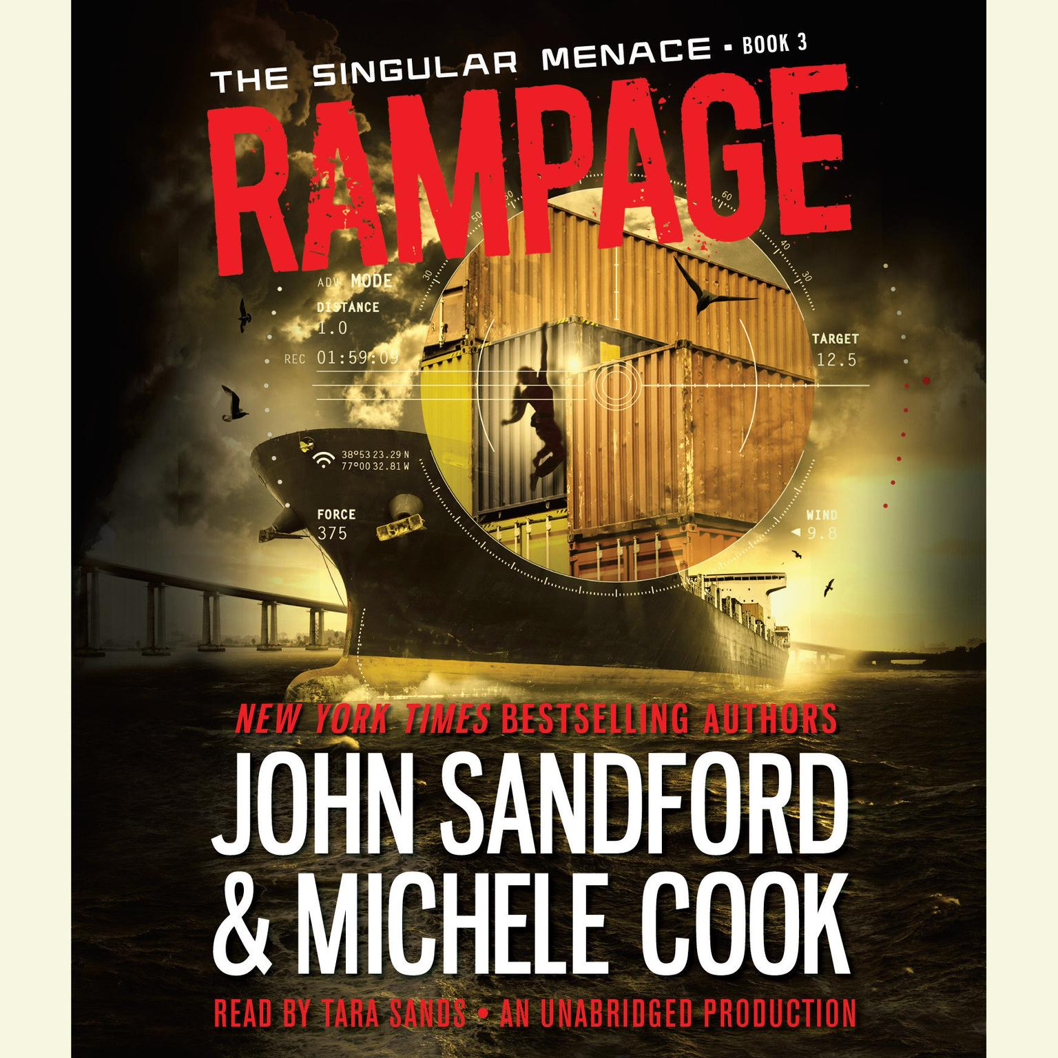 Printable Rampage (The Singular Menace, 3) Audiobook Cover Art