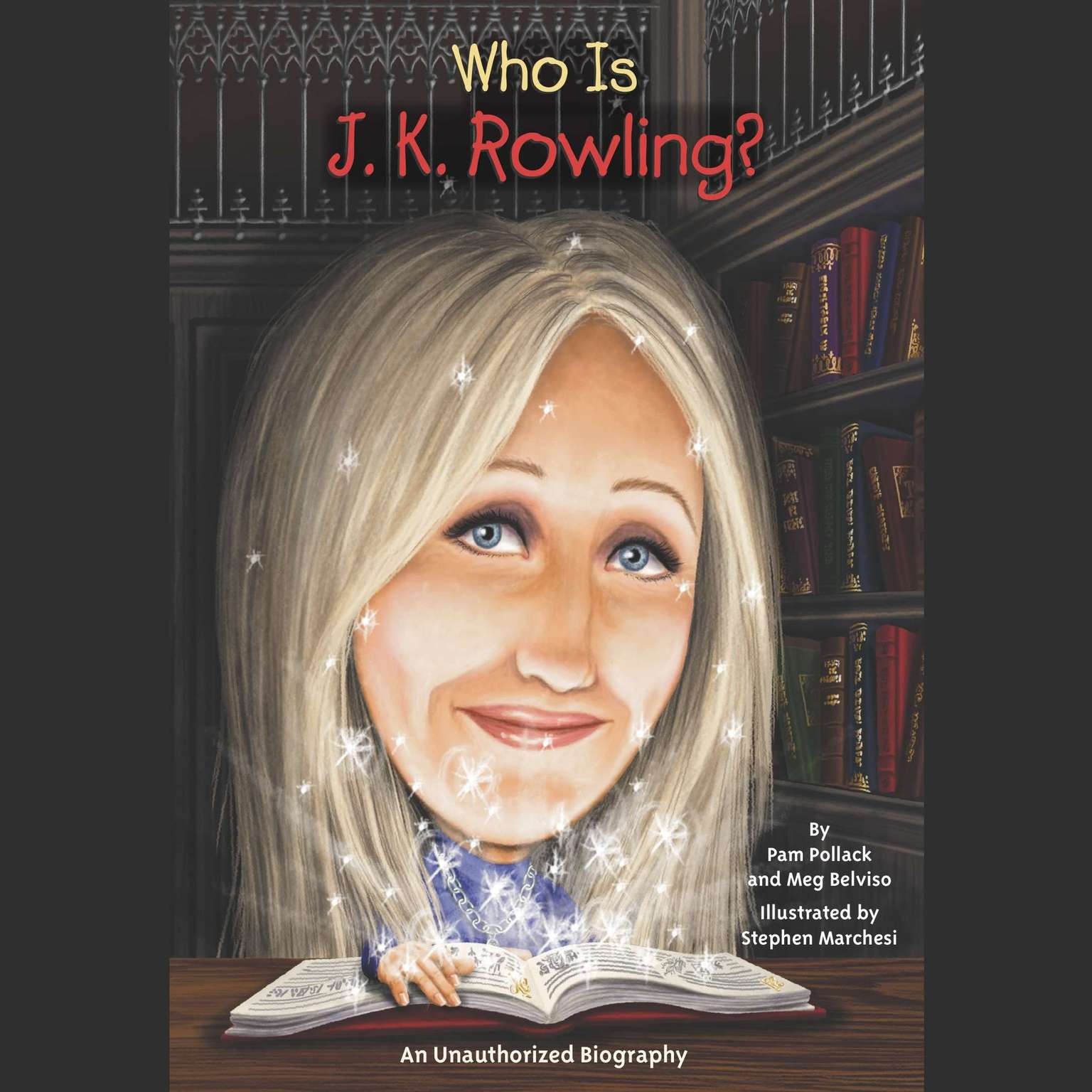 Printable Who Is J.K. Rowling? Audiobook Cover Art