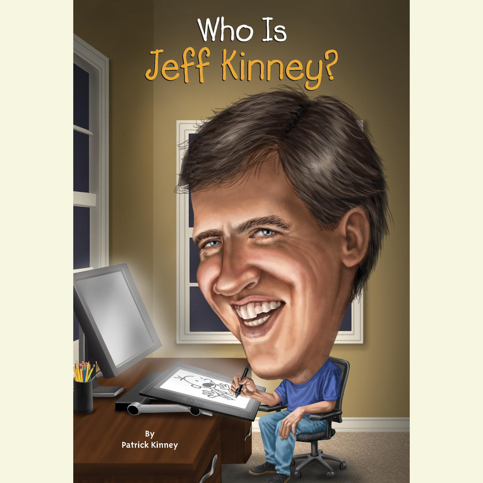 Printable Who Is Jeff Kinney? Audiobook Cover Art