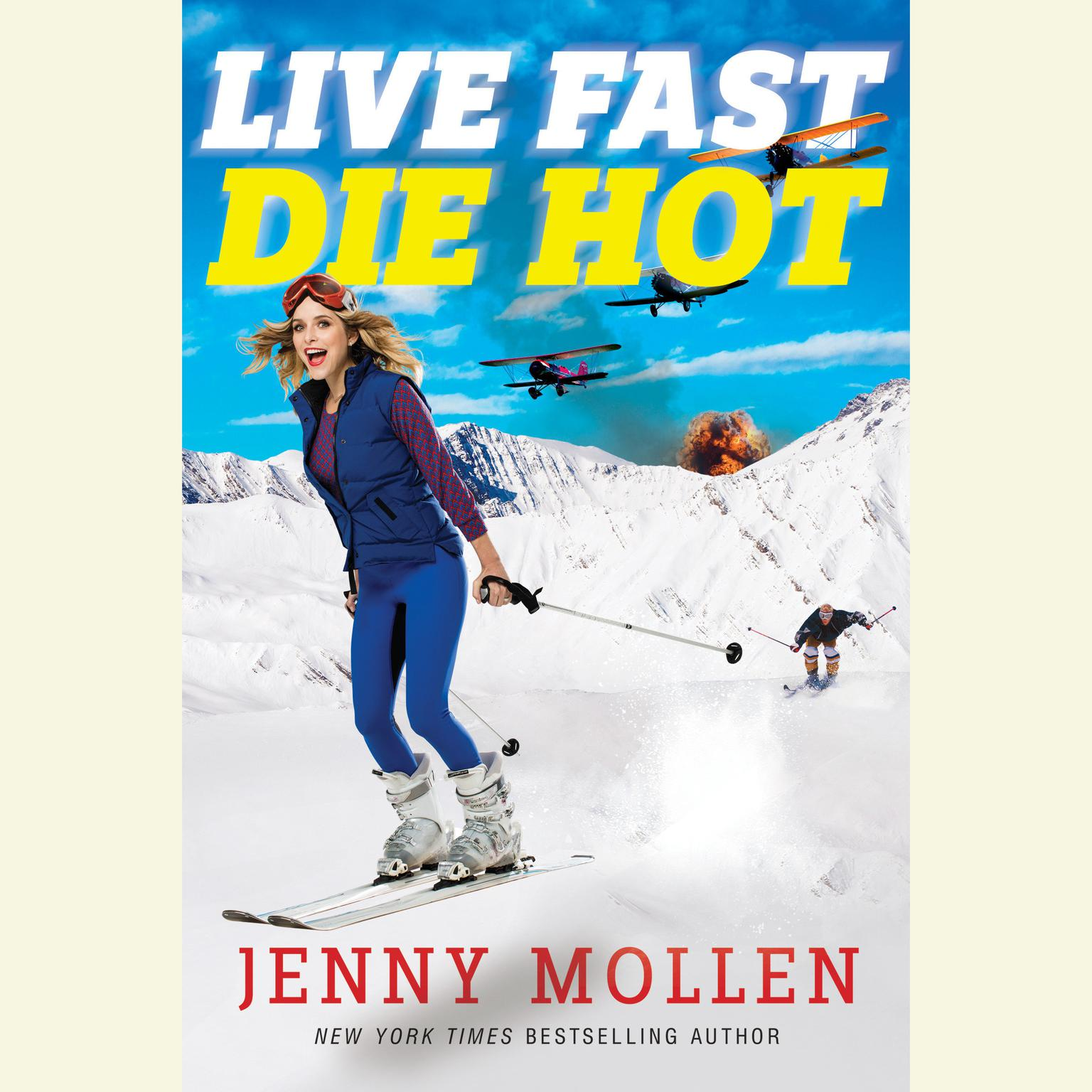 Printable Live Fast Die Hot Audiobook Cover Art