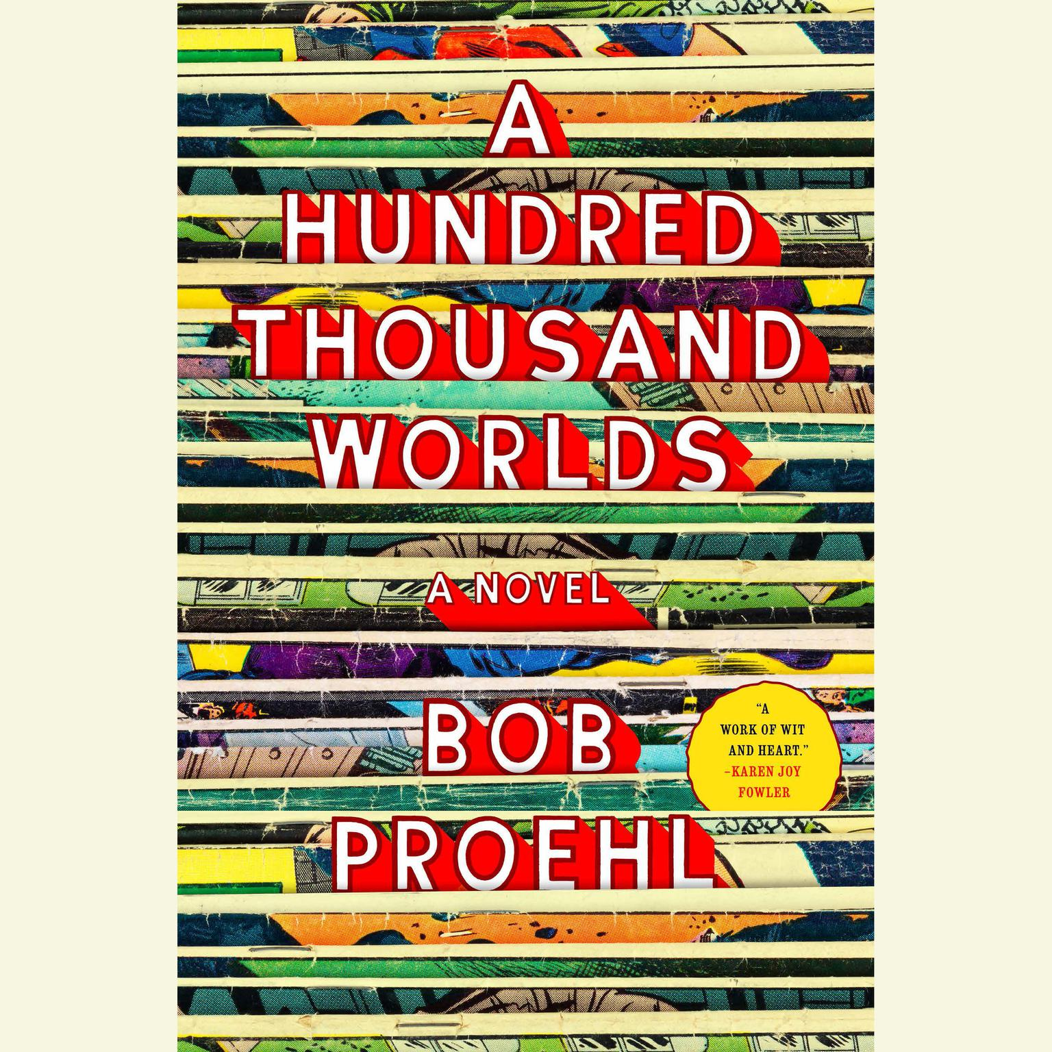 Printable A Hundred Thousand Worlds Audiobook Cover Art